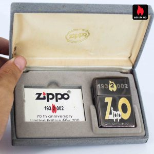 Zippo 2001 - 70th Anniversary - Limited 174/700