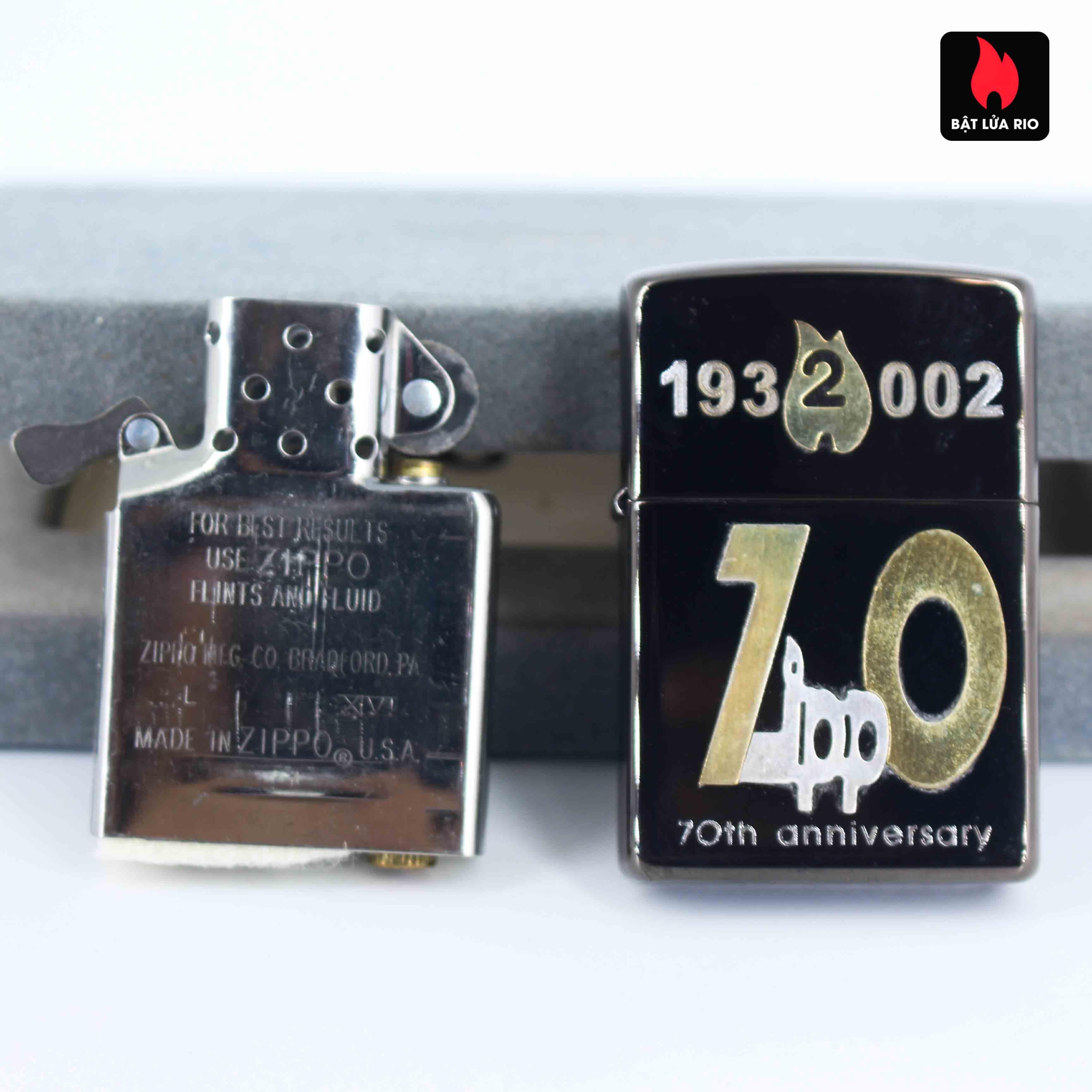 Zippo 2001 - 70th Anniversary - Limited 174/700 7