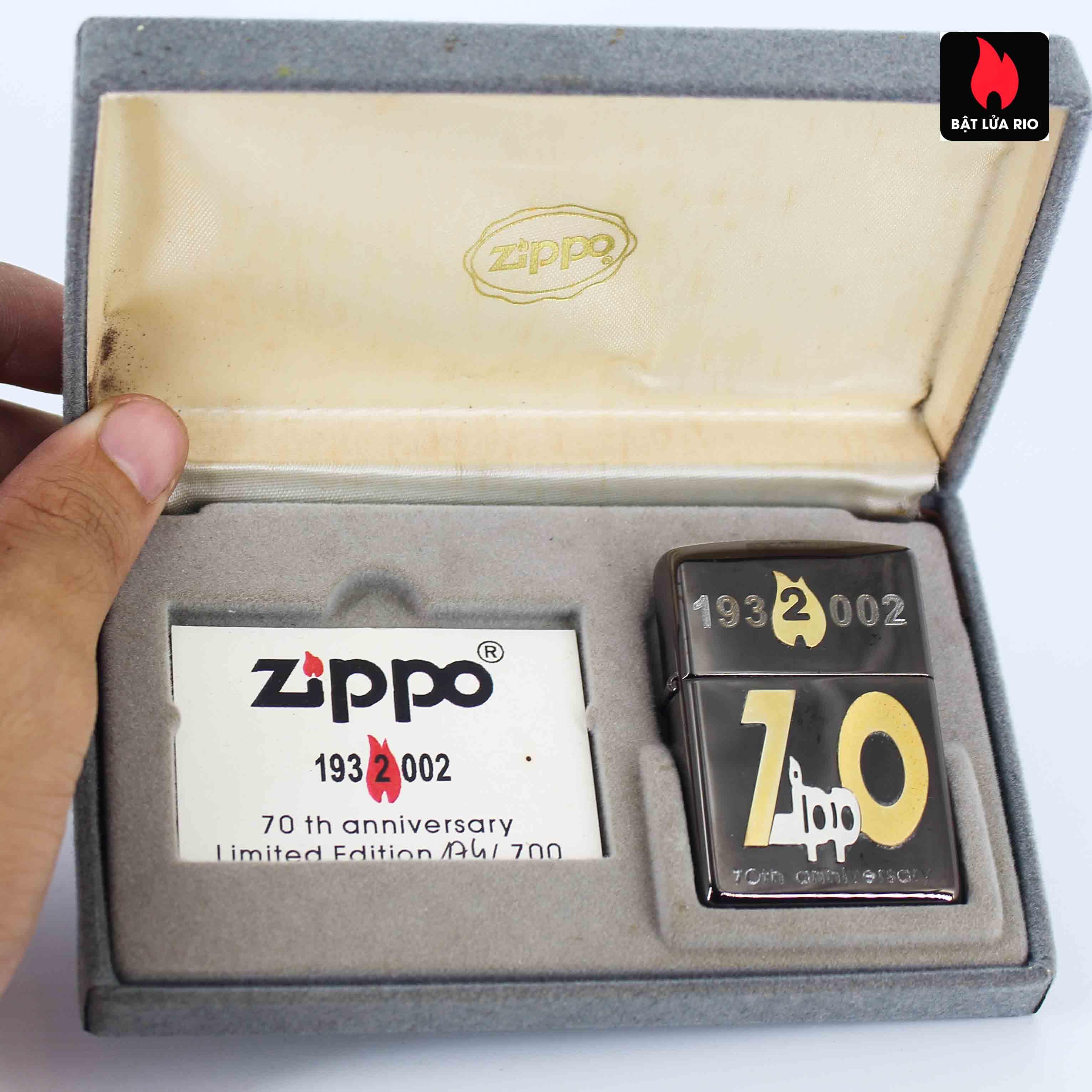 Zippo 2001 - 70th Anniversary - Limited 174/700