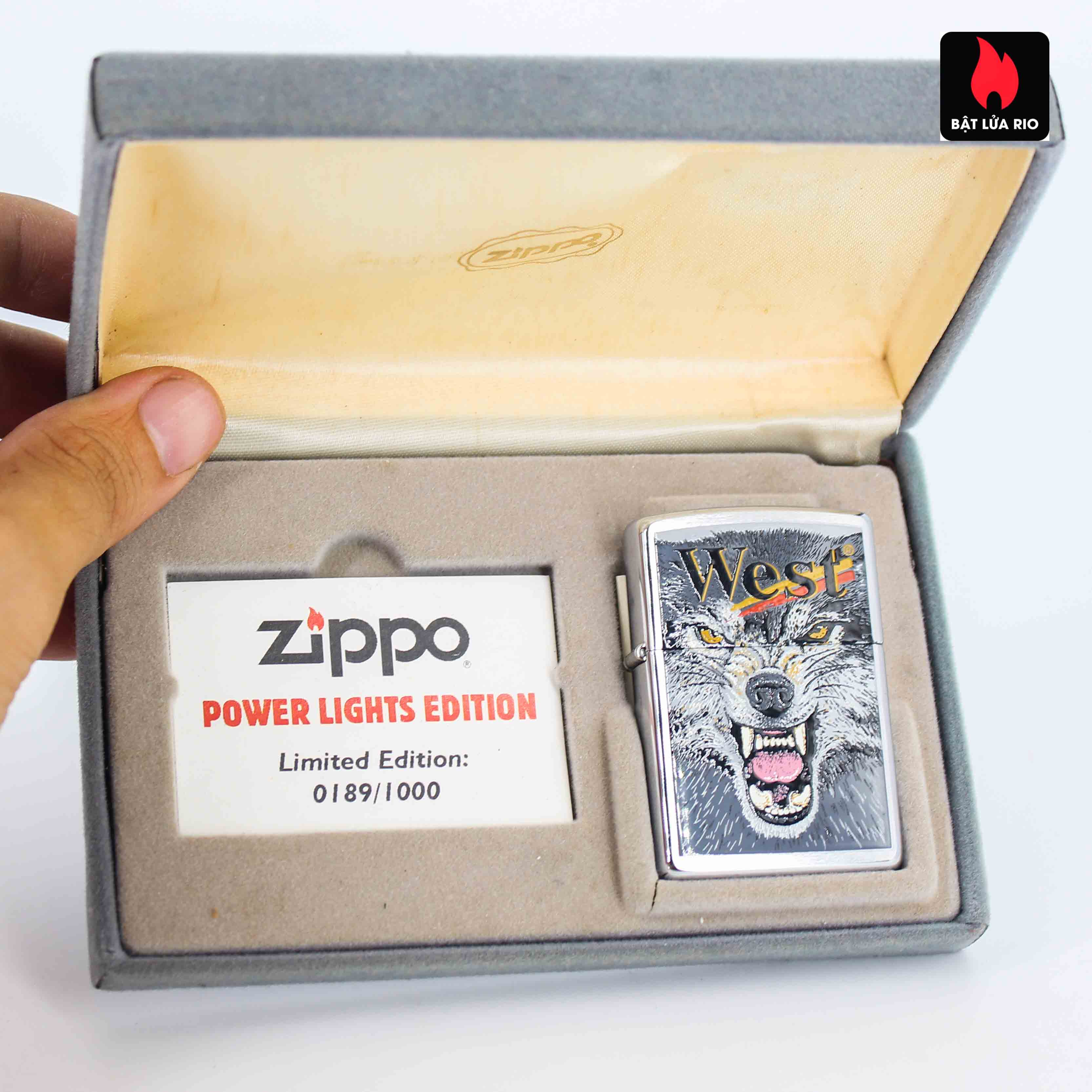 Zippo 2001 - Wild Lighters Edition - Limited Edition /1000 12