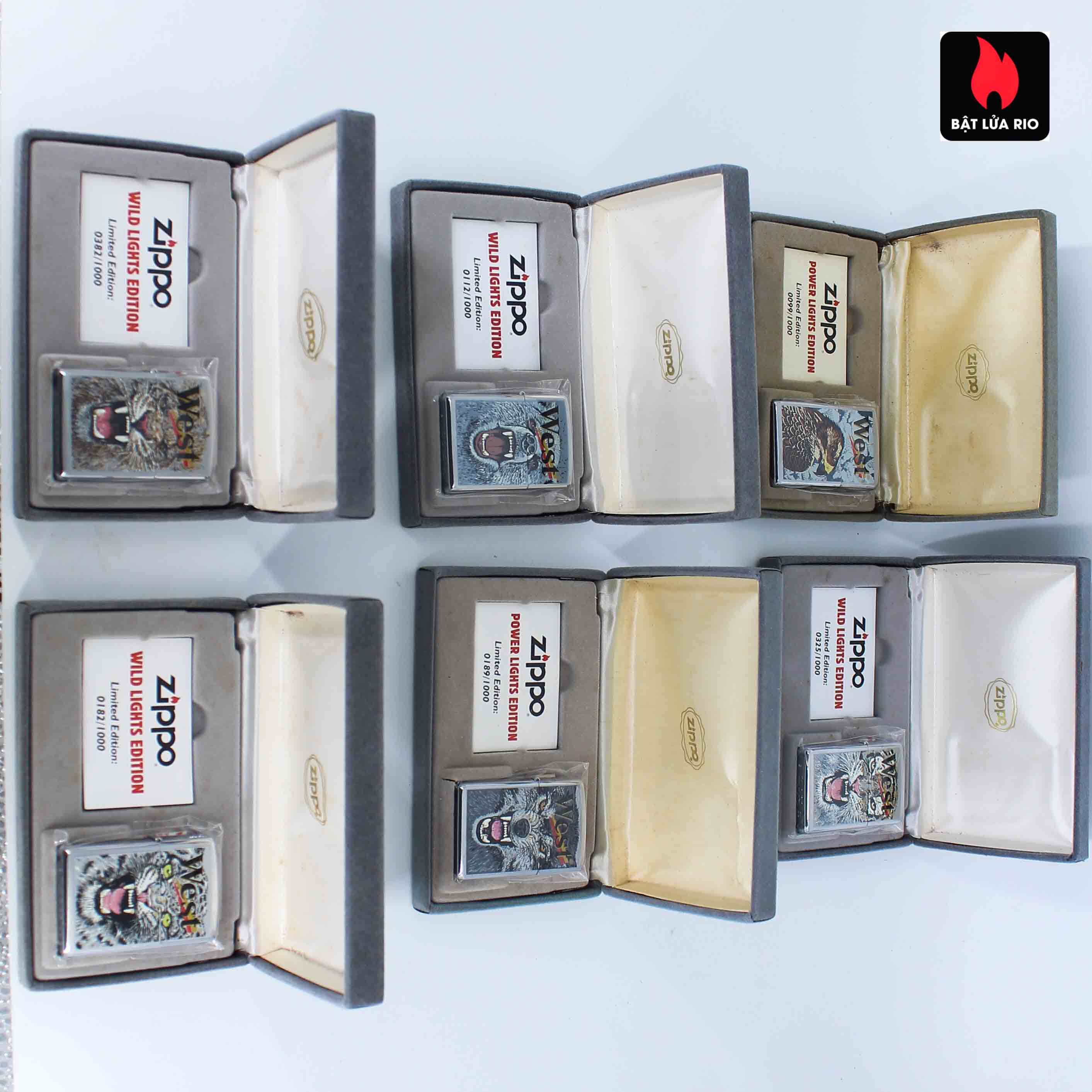 Zippo 2001 - Wild Lighters Edition - Limited Edition /1000 2