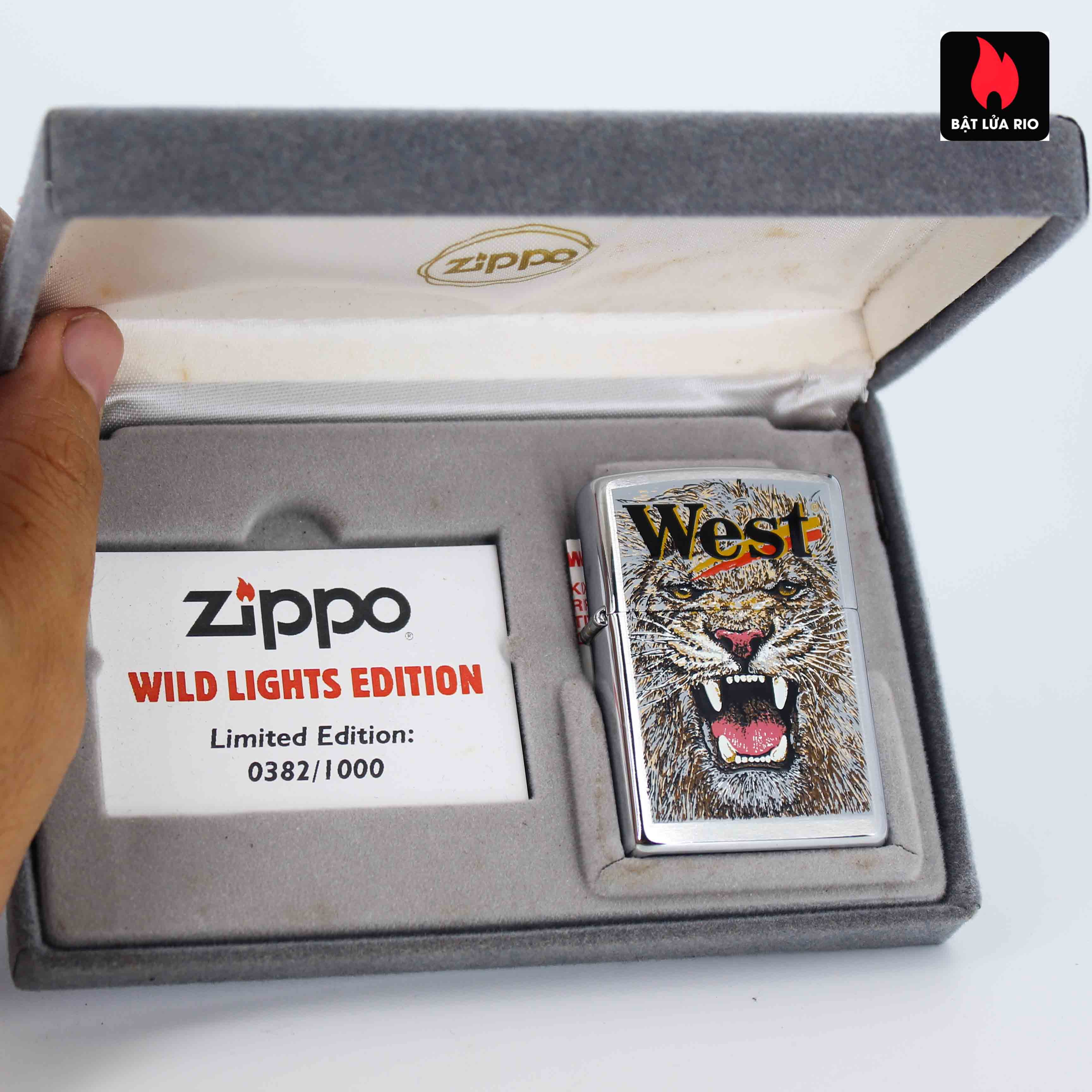 Zippo 2001 - Wild Lighters Edition - Limited Edition /1000 20