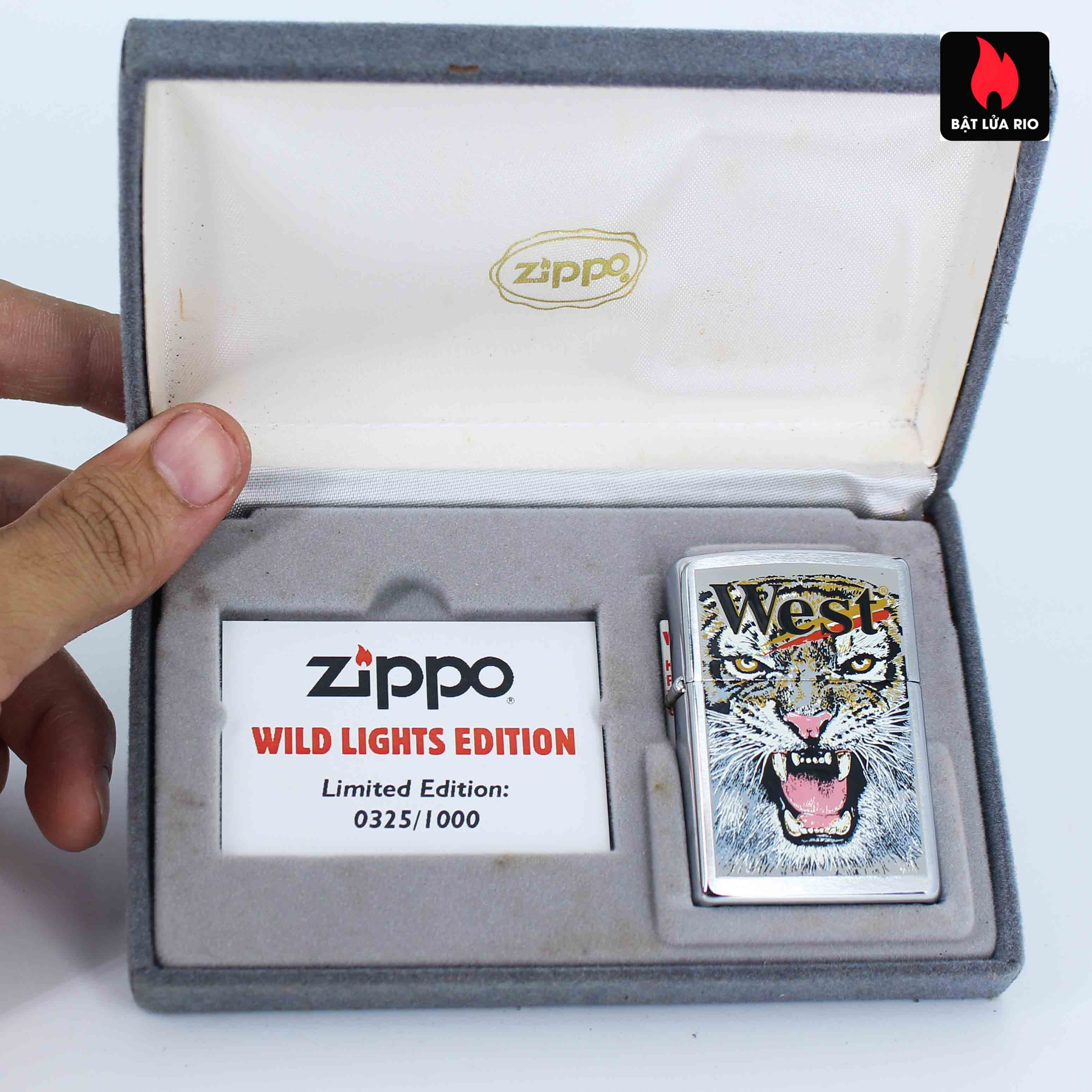 Zippo 2001 - Wild Lighters Edition - Limited Edition /1000 3