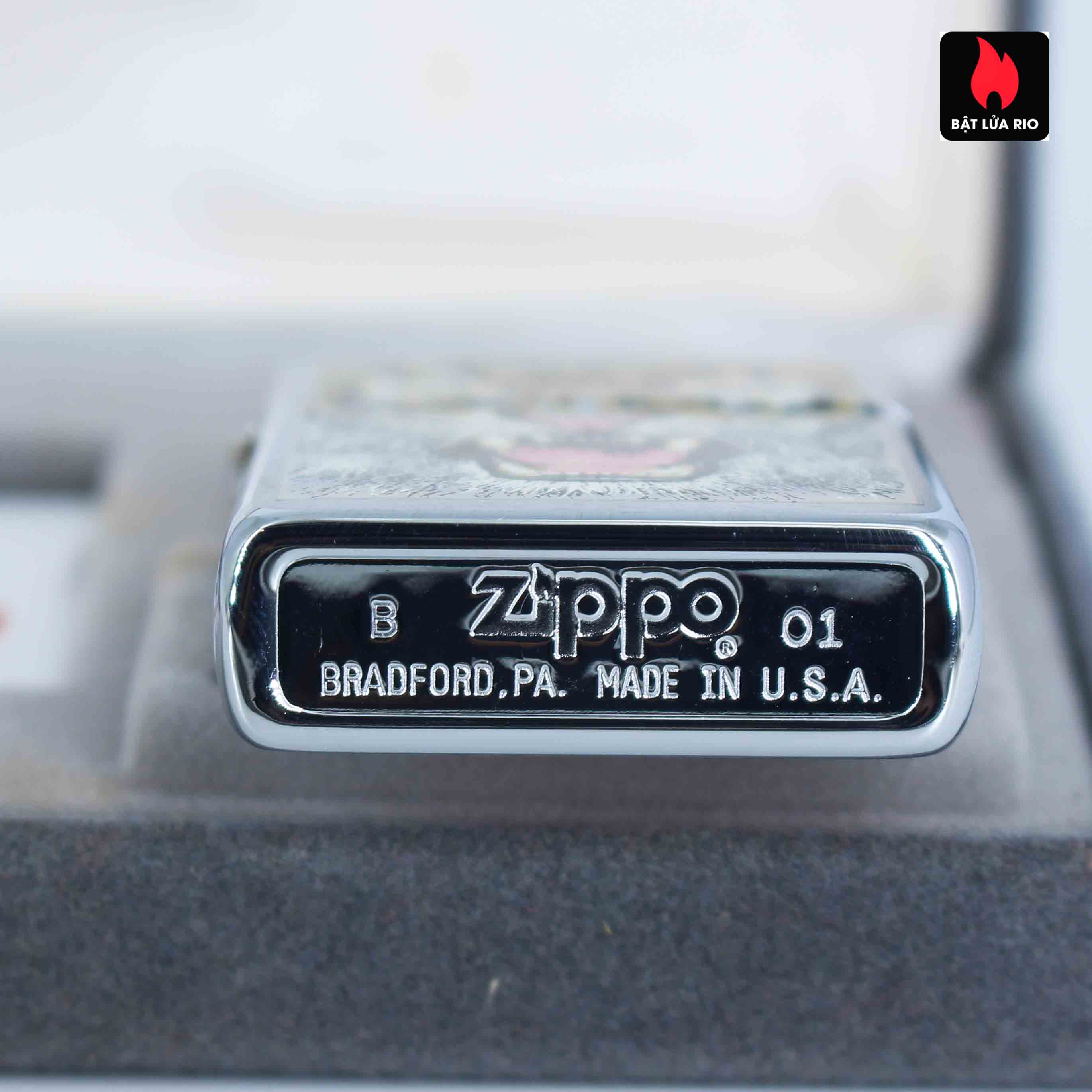 Zippo 2001 - Wild Lighters Edition - Limited Edition /1000 5