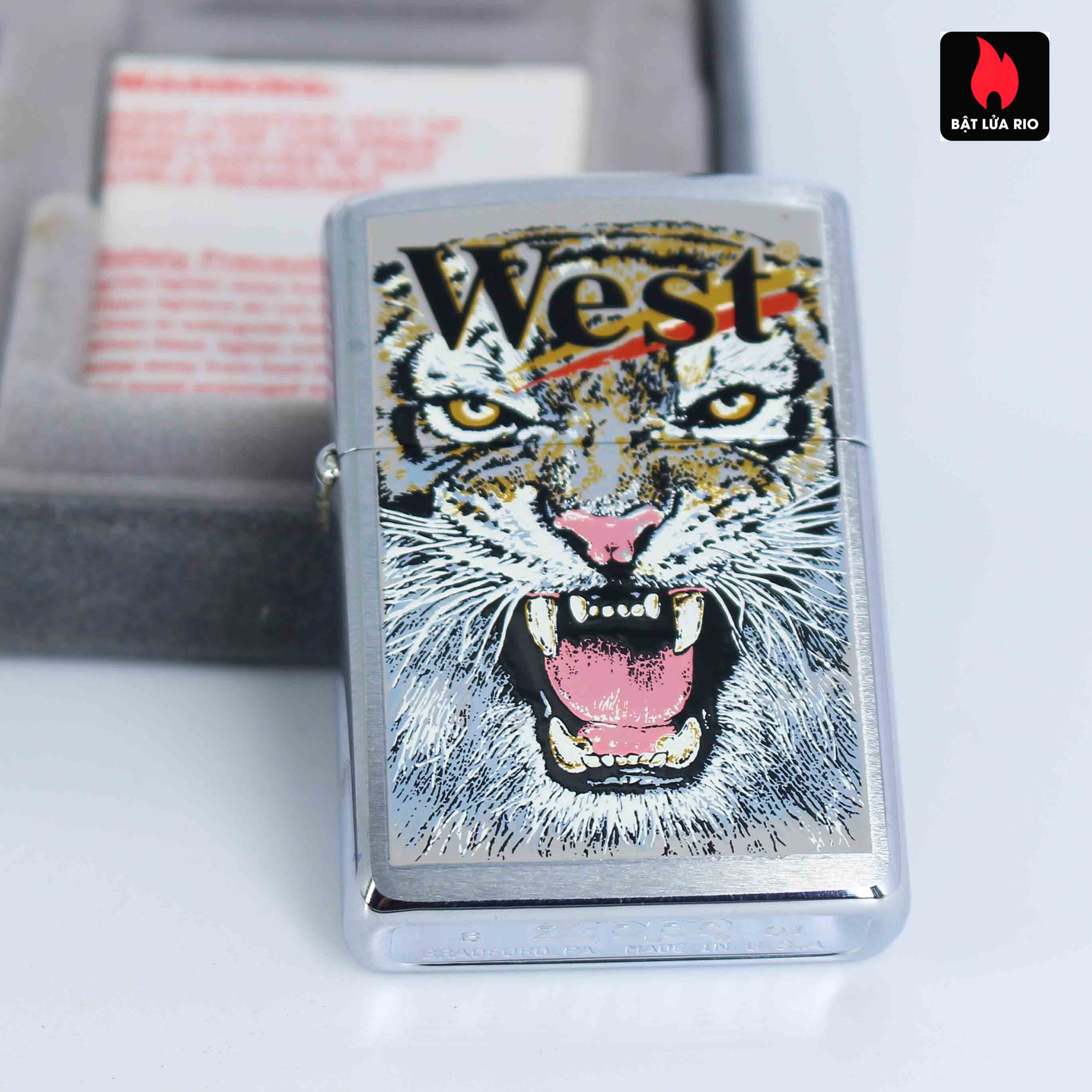 Zippo 2001 - Wild Lighters Edition - Limited Edition /1000 6
