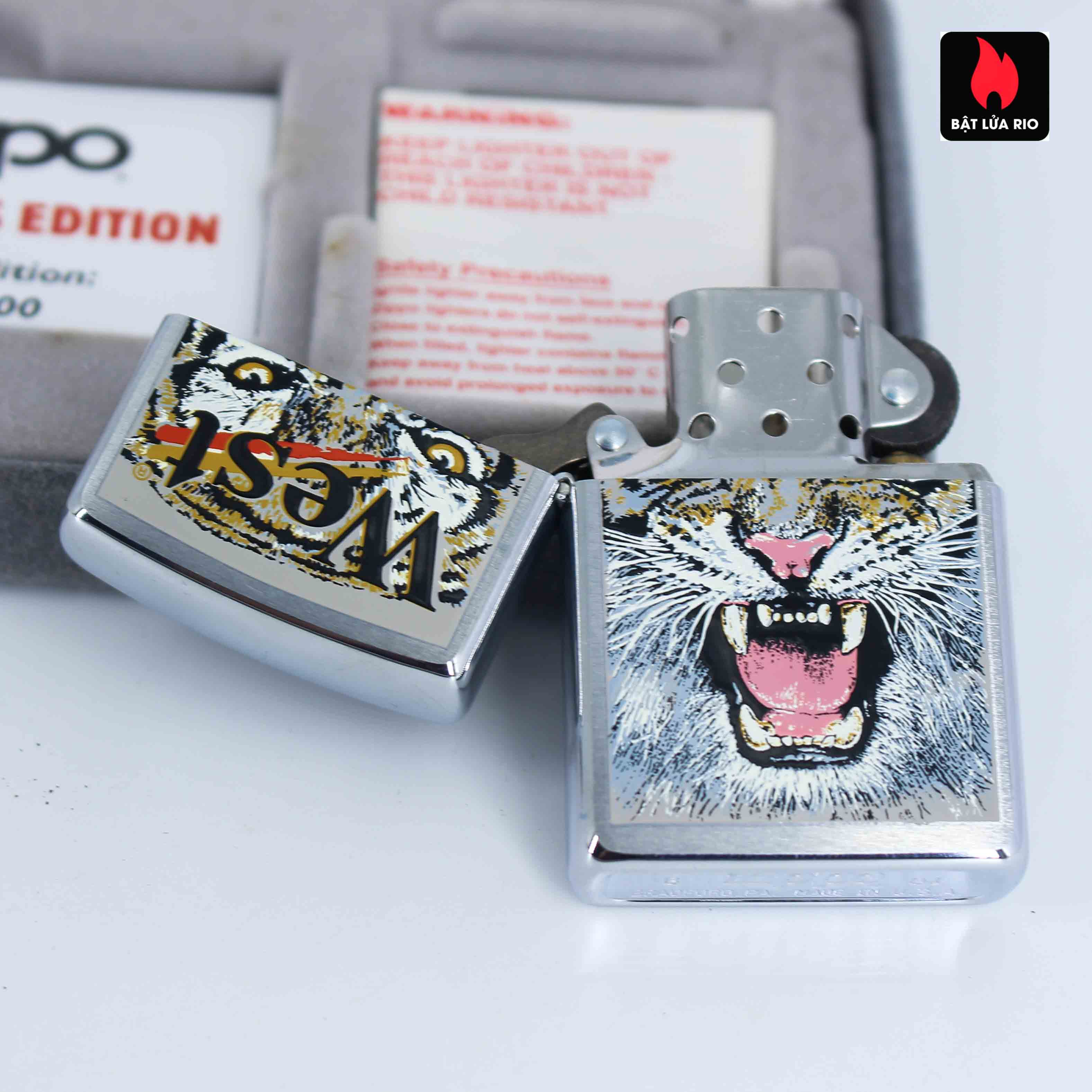 Zippo 2001 - Wild Lighters Edition - Limited Edition /1000 7