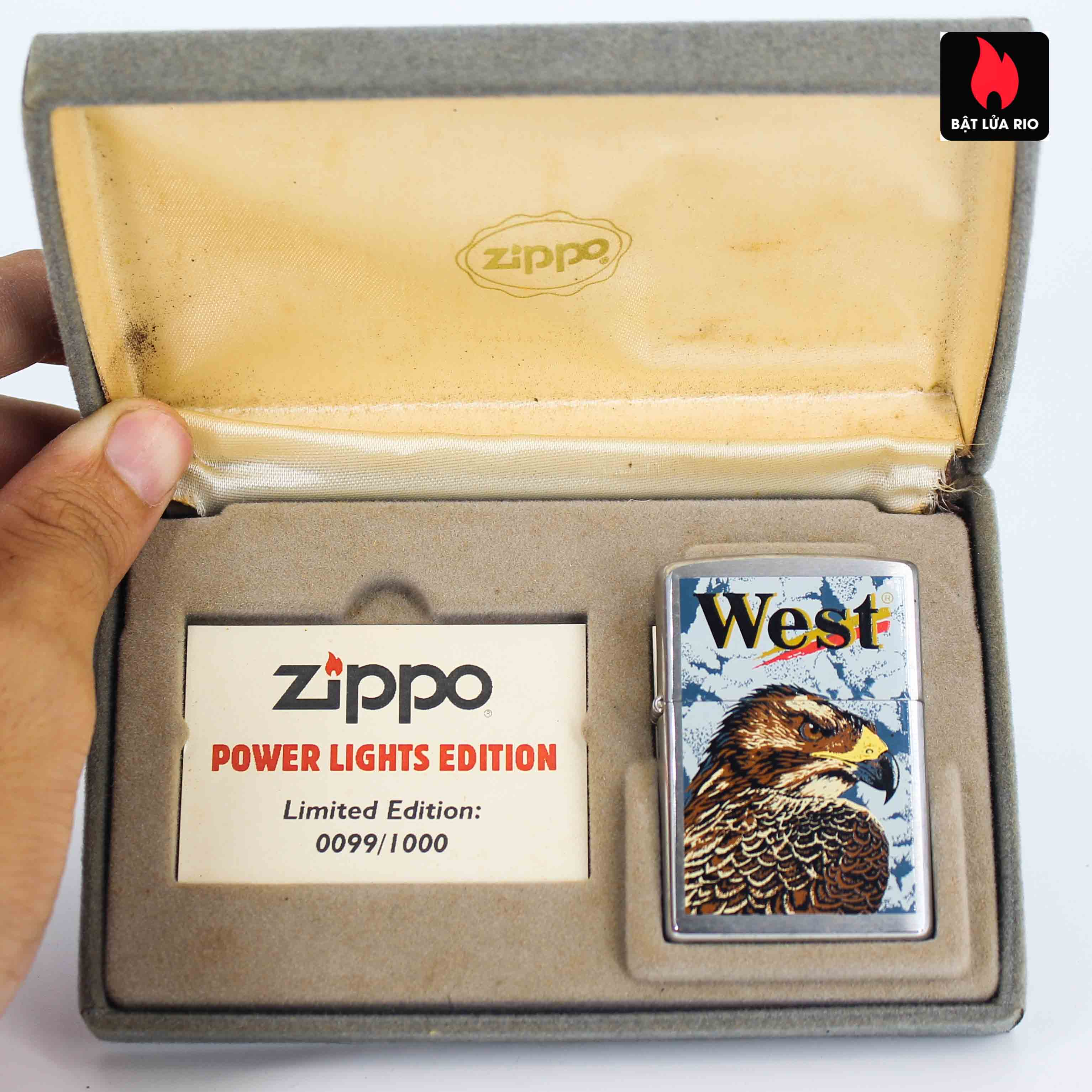 Zippo 2001 - Wild Lighters Edition - Limited Edition /1000 9
