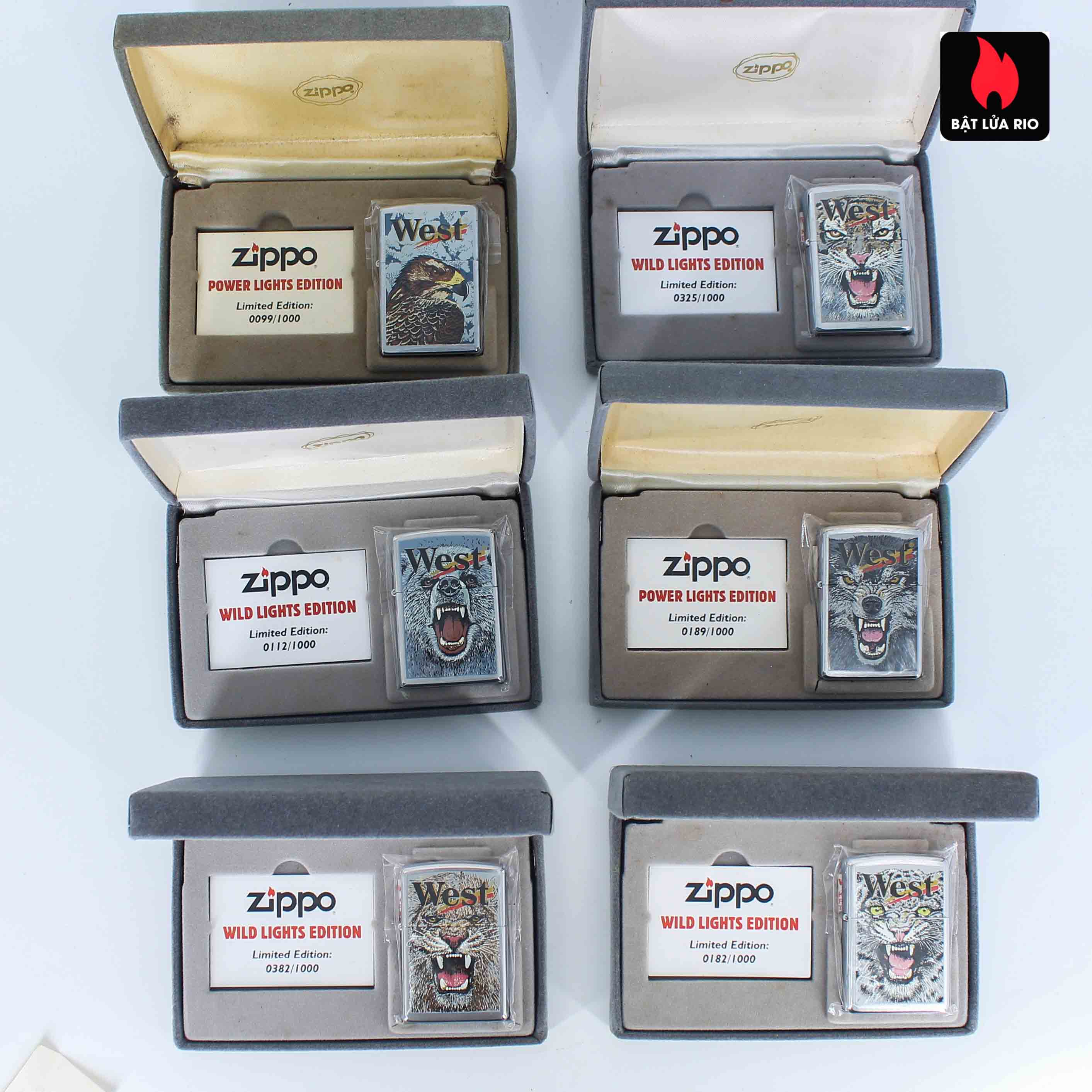 Zippo 2001 - Wild Lighters Edition - Limited Edition /1000