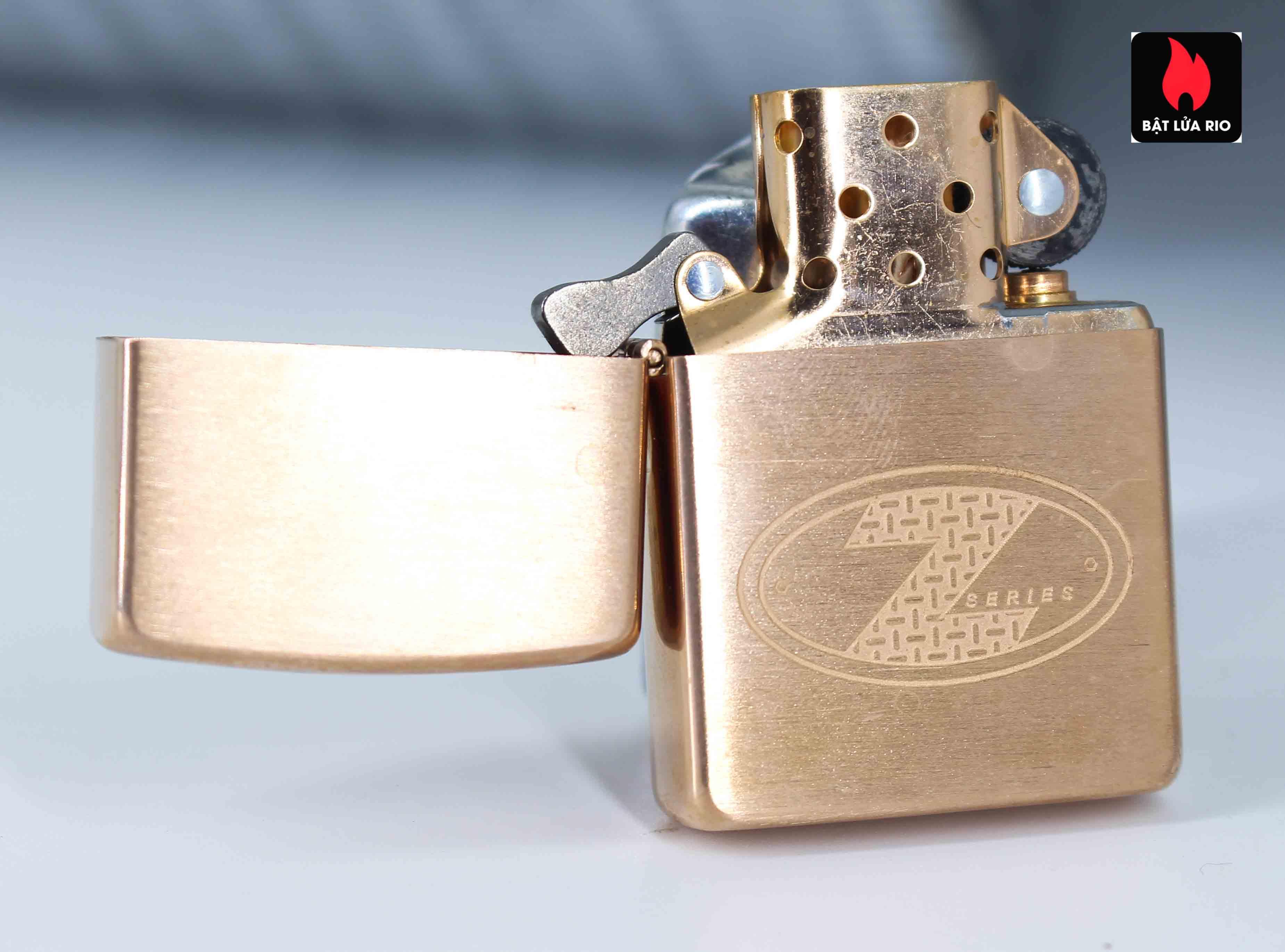 Zippo 2002 - Zippo Z-Series Copper Project - Click Member Edition 020/100 2