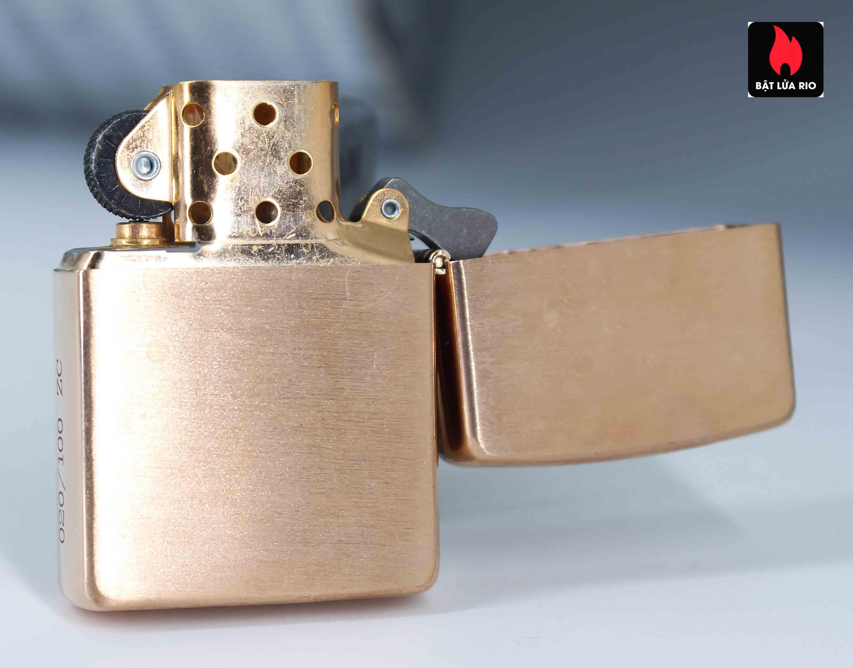 Zippo 2002 - Zippo Z-Series Copper Project - Click Member Edition 020/100 3