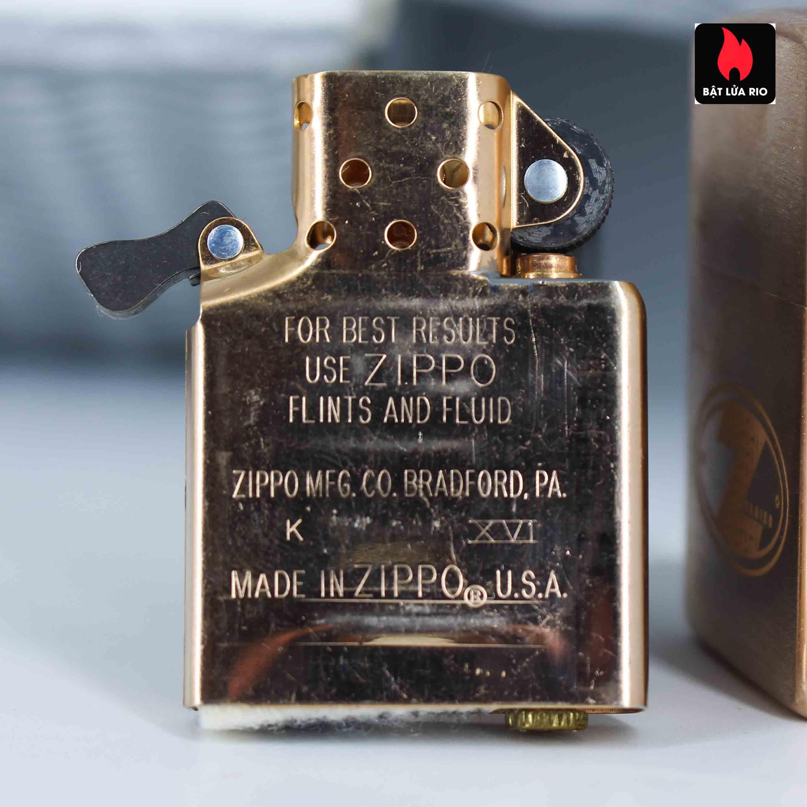 Zippo 2002 - Zippo Z-Series Copper Project - Click Member Edition 020/100 5