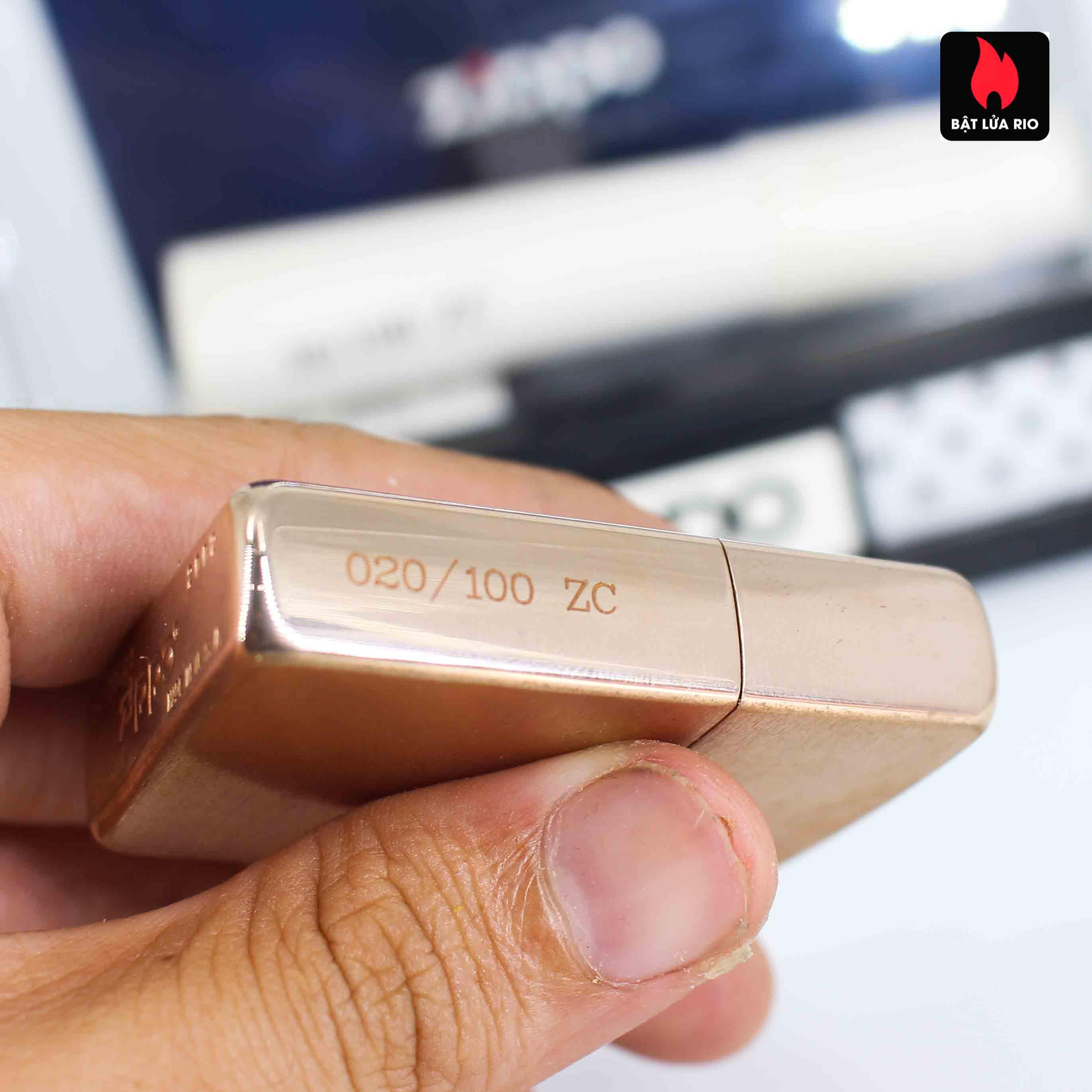 Zippo 2002 - Zippo Z-Series Copper Project - Click Member Edition 020/100 8