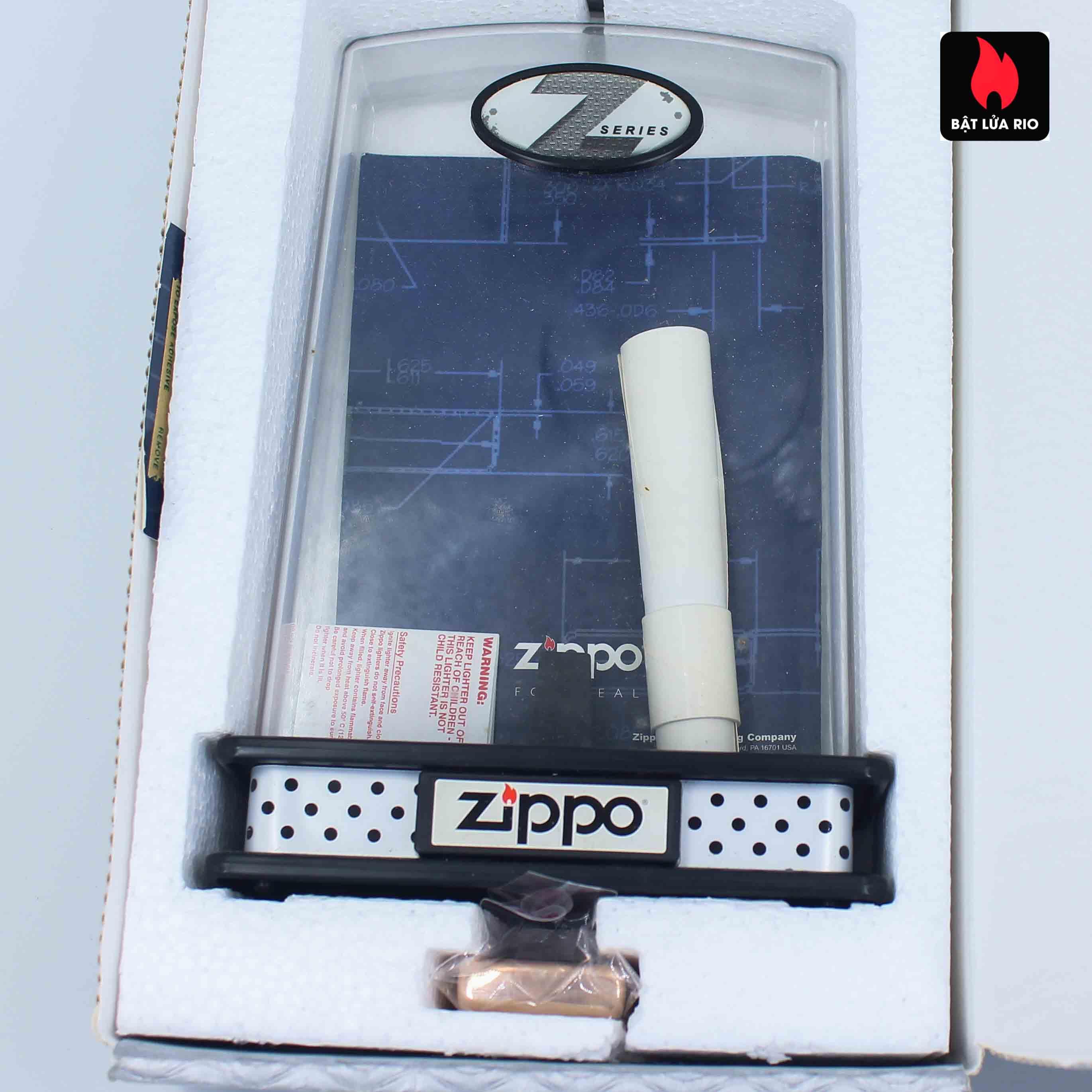 Zippo 2002 - Zippo Z-Series Copper Project - Click Member Edition 020/100