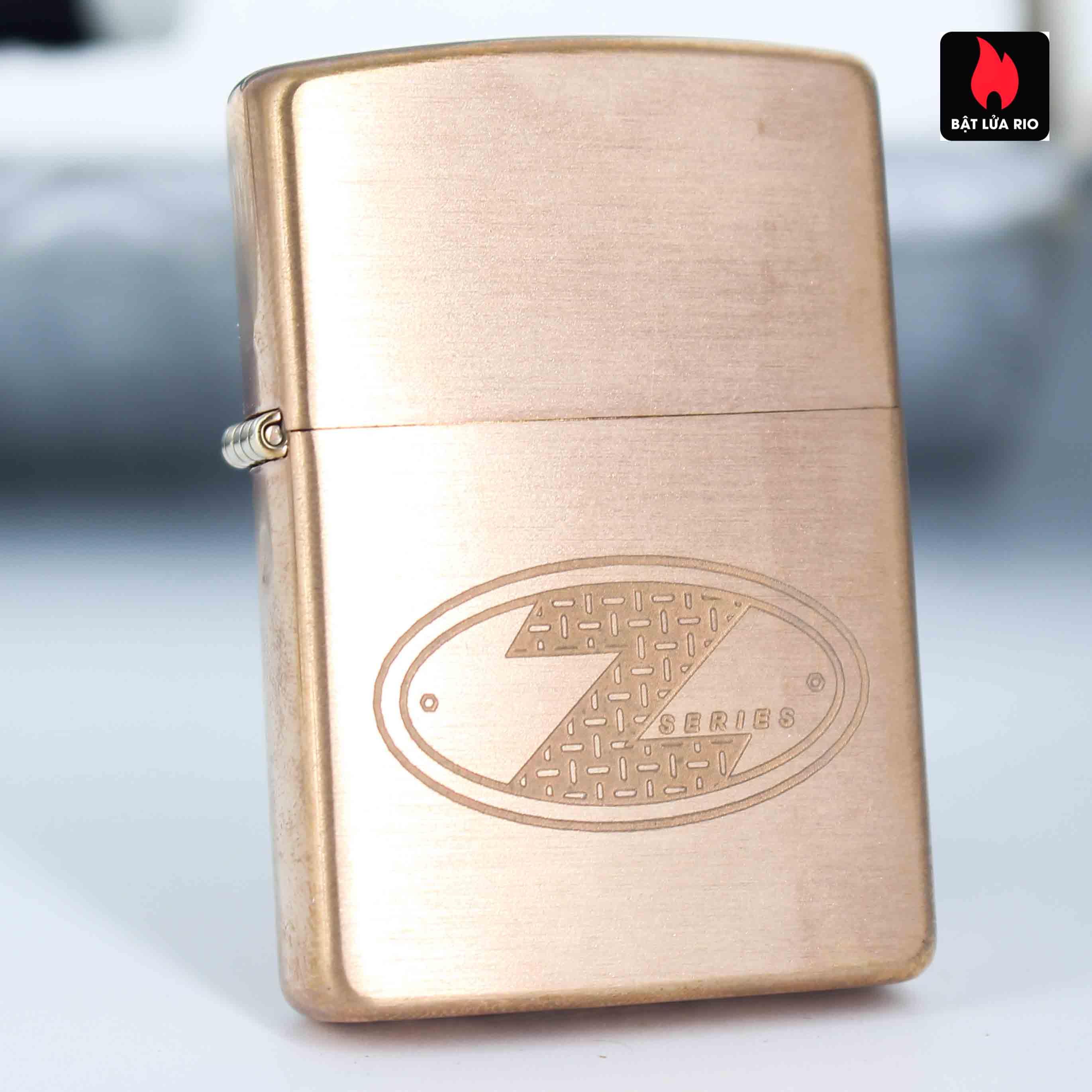 Zippo 2002 – Zippo Z-Series Copper Project – EU - Limited 1505/3646 E 2