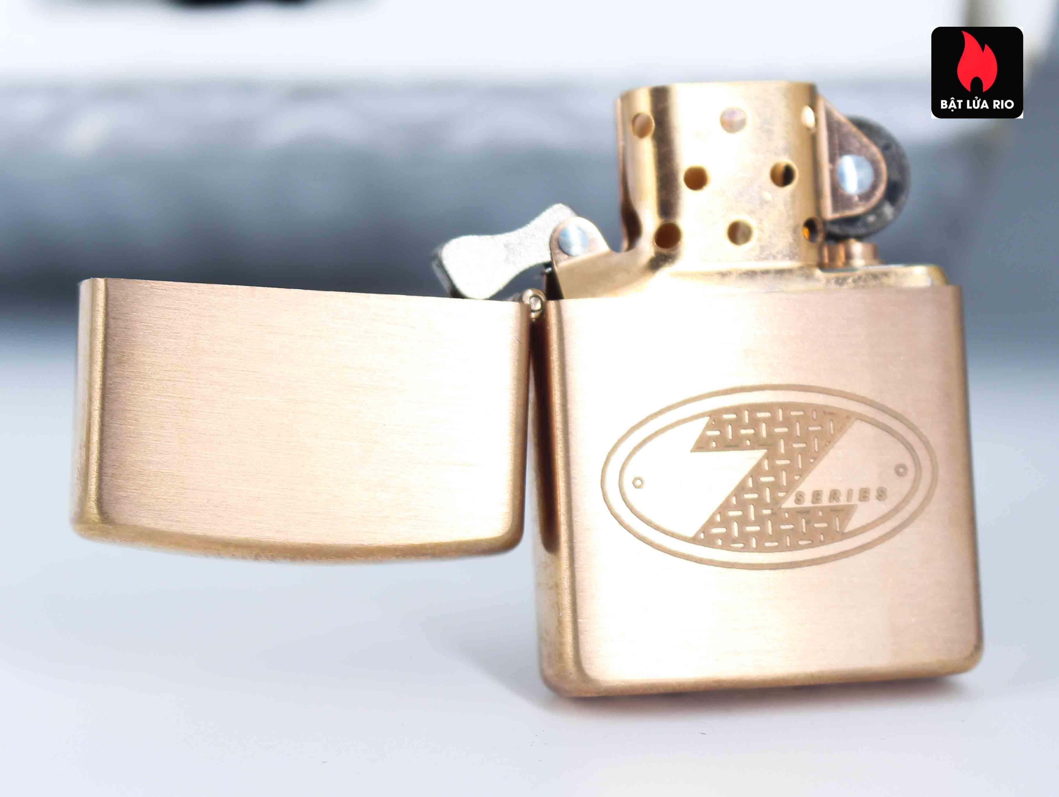 Zippo 2002 – Zippo Z-Series Copper Project – EU - Limited 1505/3646 E 3