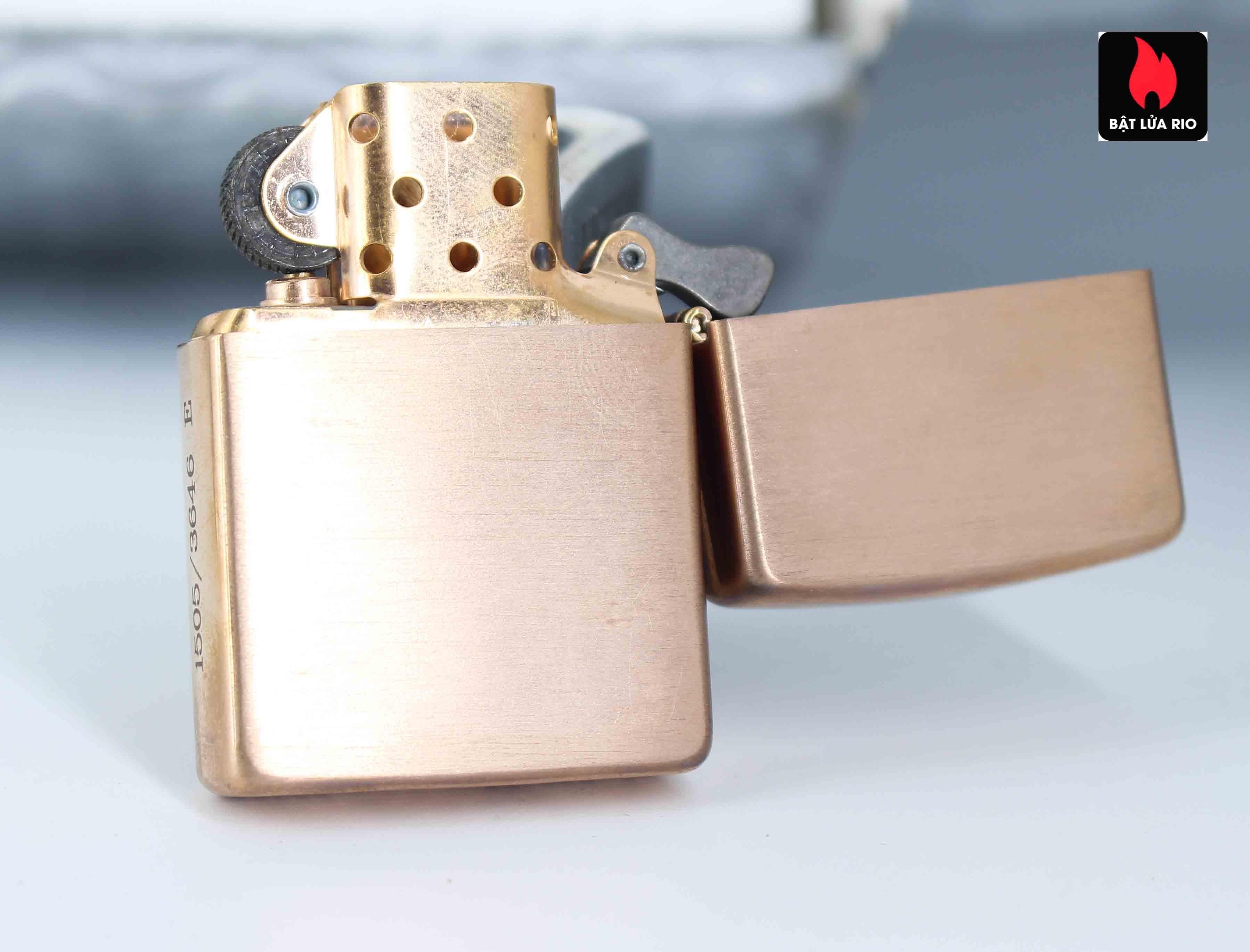 Zippo 2002 – Zippo Z-Series Copper Project – EU - Limited 1505/3646 E 4