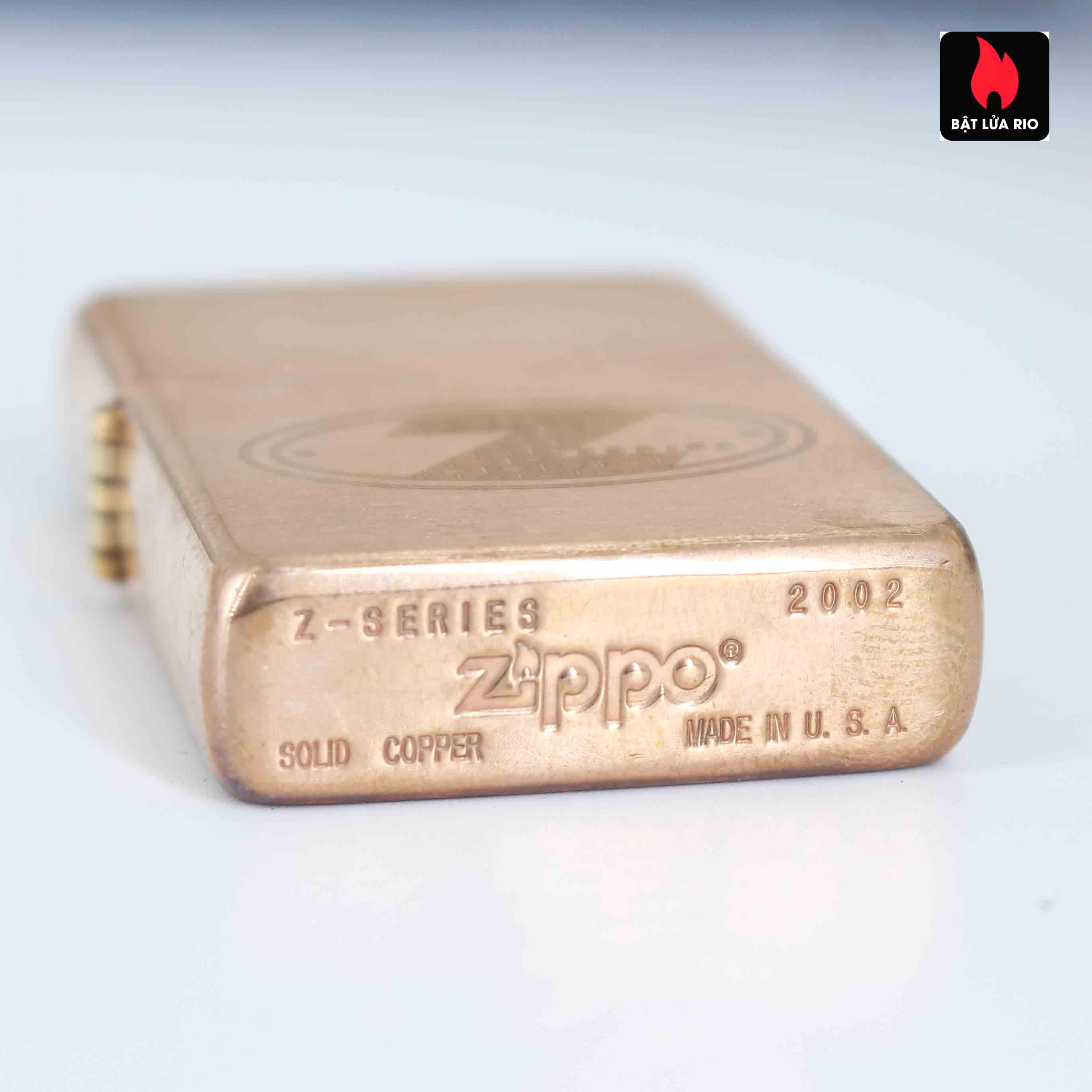 Zippo 2002 – Zippo Z-Series Copper Project – EU - Limited 1505/3646 E 6