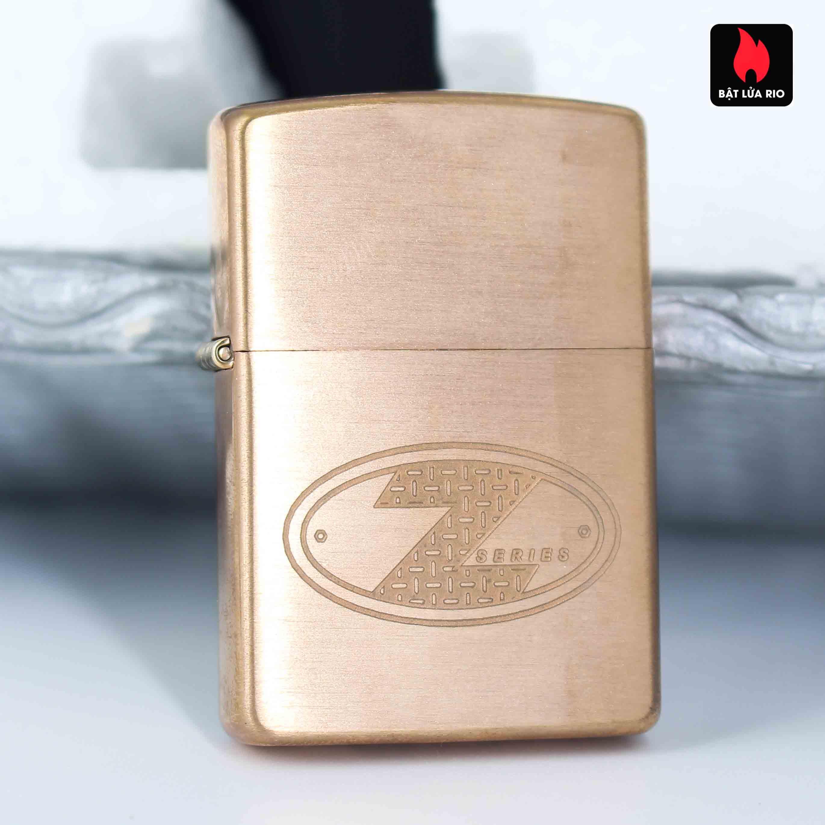 Zippo 2002 – Zippo Z-Series Copper Project – EU - Limited 1505/3646 E 7