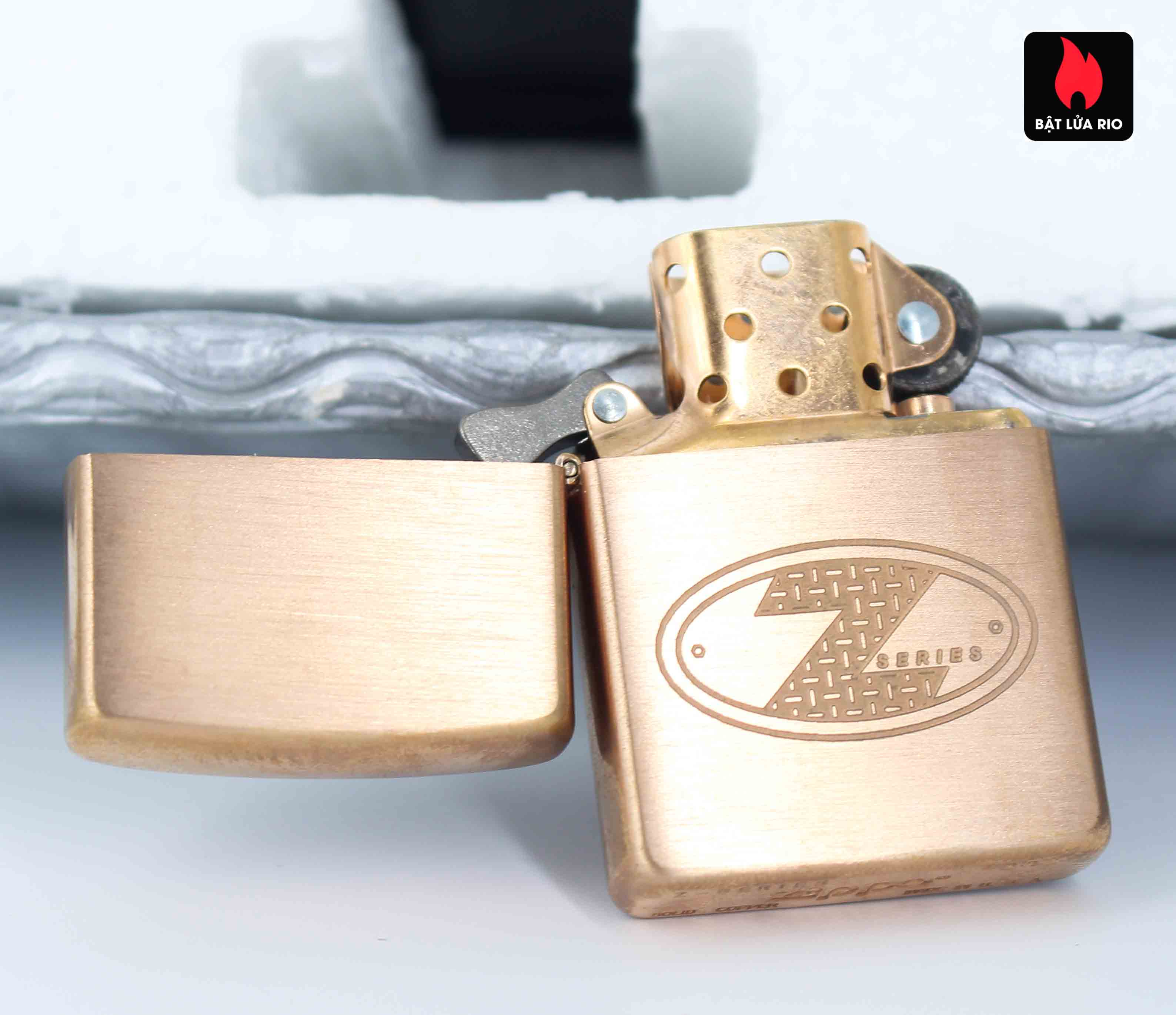 Zippo 2002 – Zippo Z-Series Copper Project – EU - Limited 1505/3646 E 8