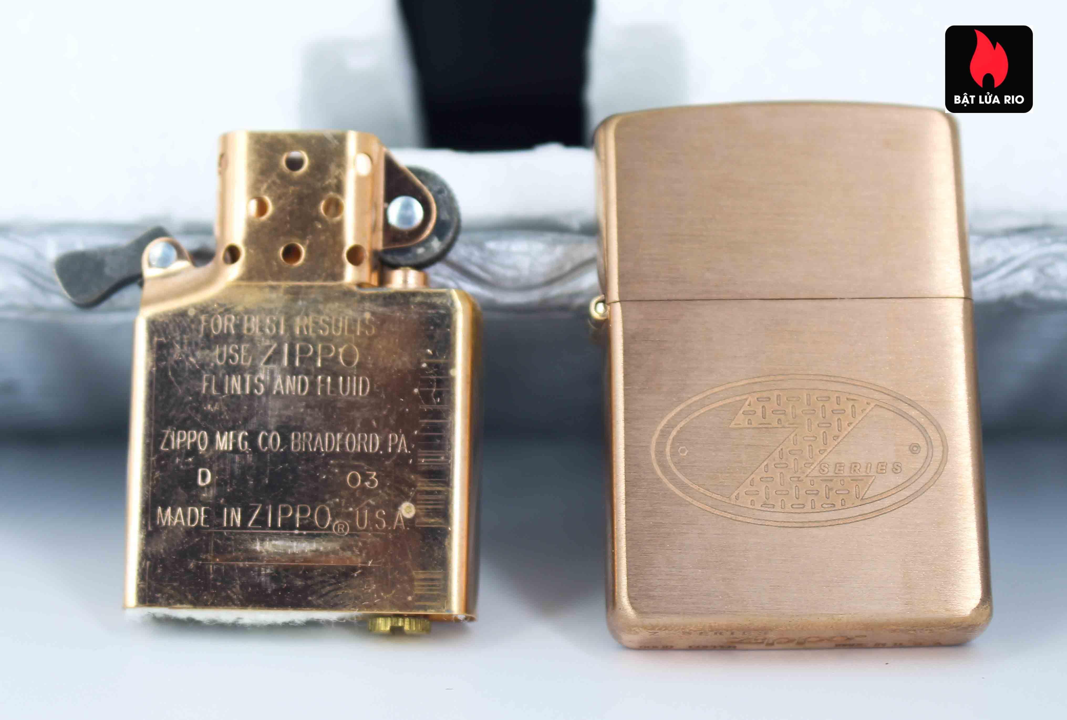 Zippo 2002 – Zippo Z-Series Copper Project – EU - Limited 1505/3646 E 9