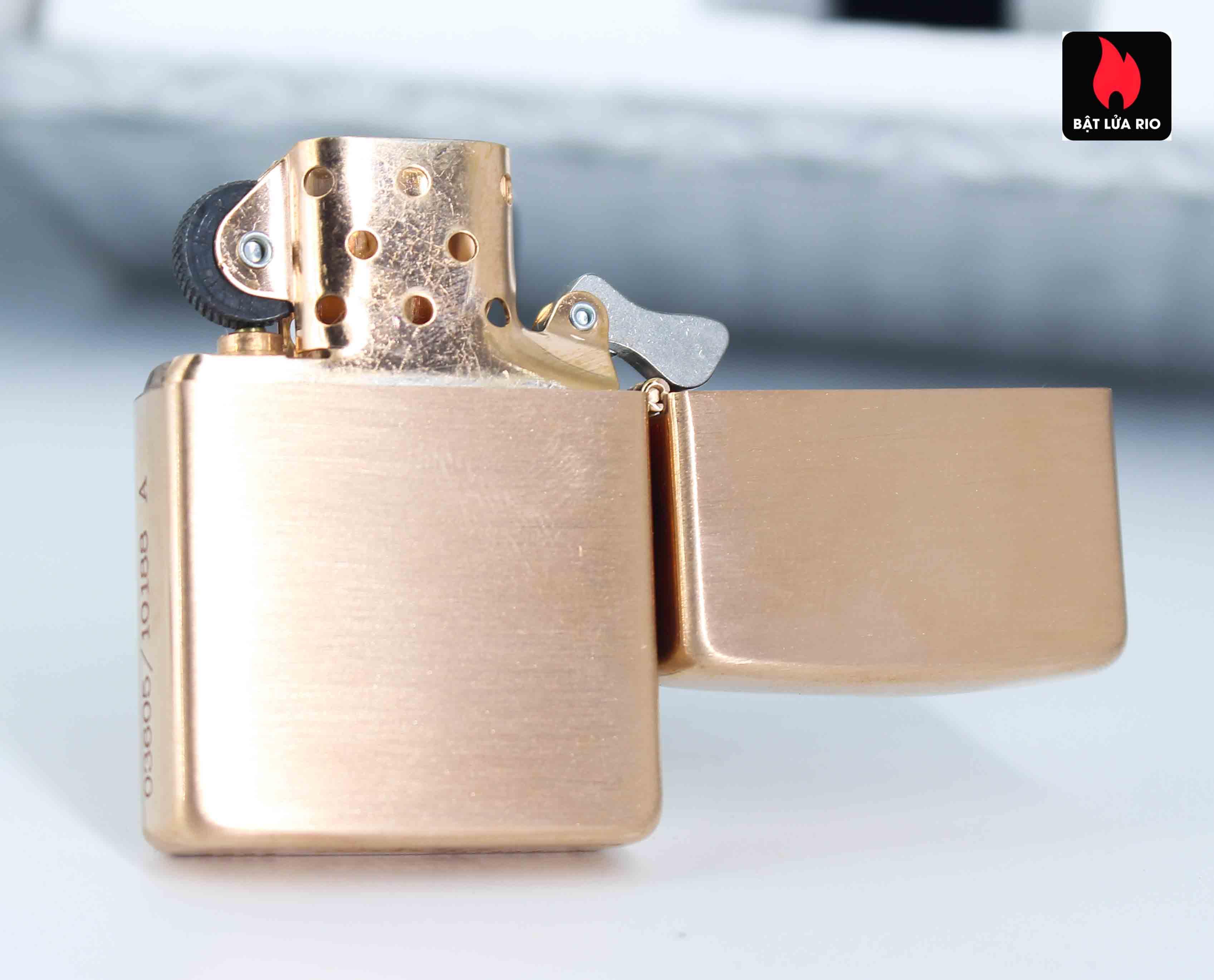 Zippo 2002 – Zippo Z-Series Copper Project – USA - Limited 03605/10188 A 4