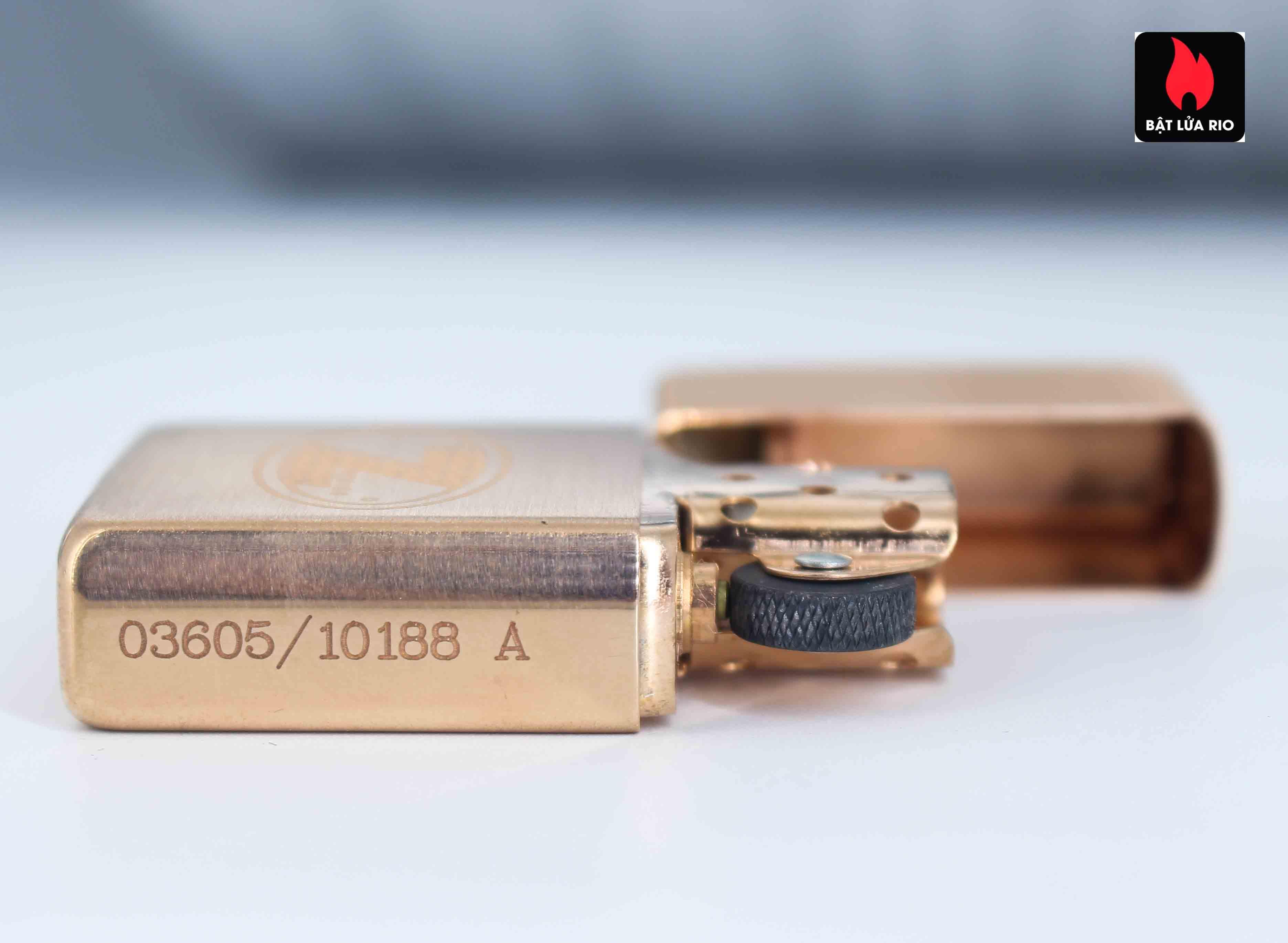 Zippo 2002 – Zippo Z-Series Copper Project – USA - Limited 03605/10188 A 5