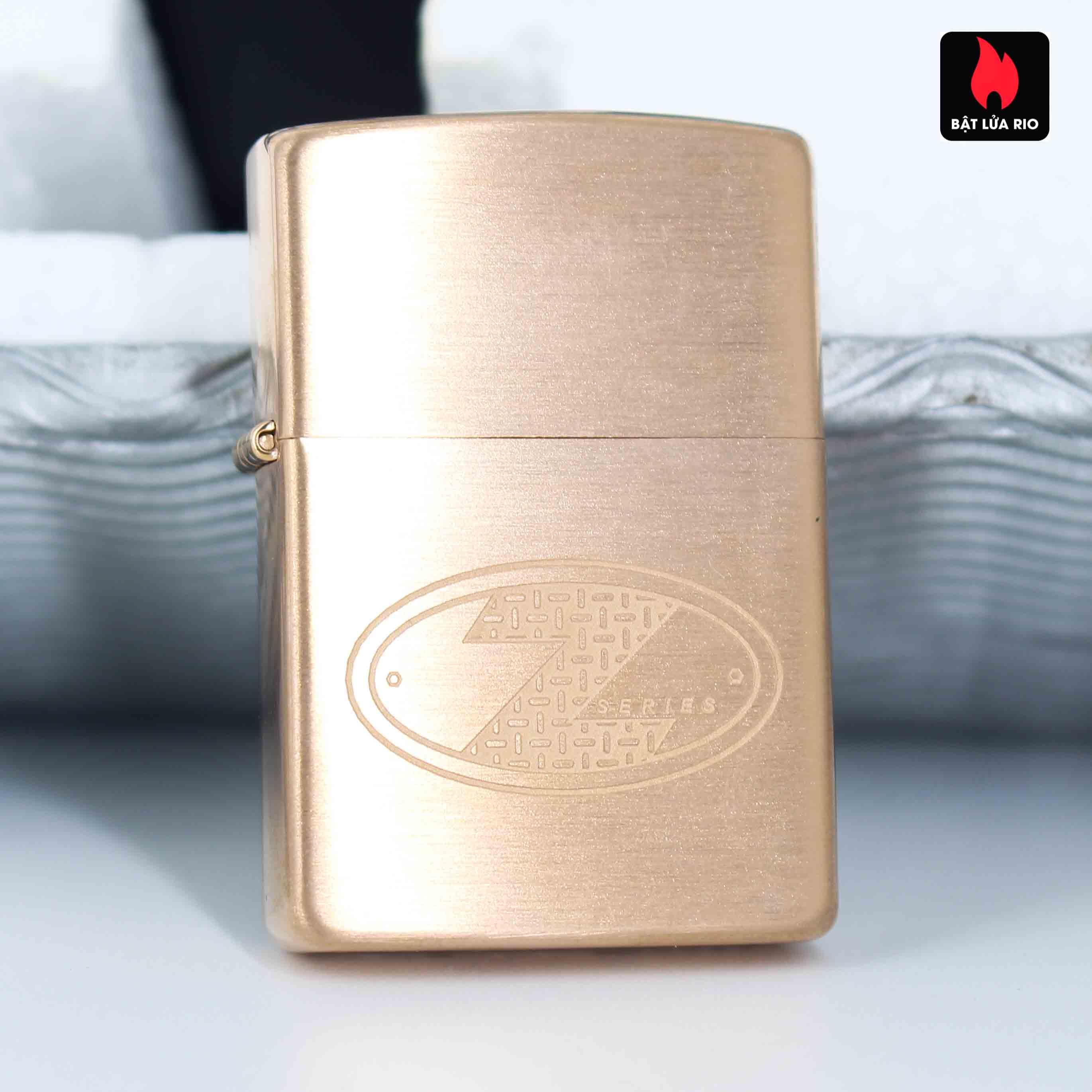 Zippo 2002 – Zippo Z-Series Copper Project – USA - Limited 03605/10188 A 7