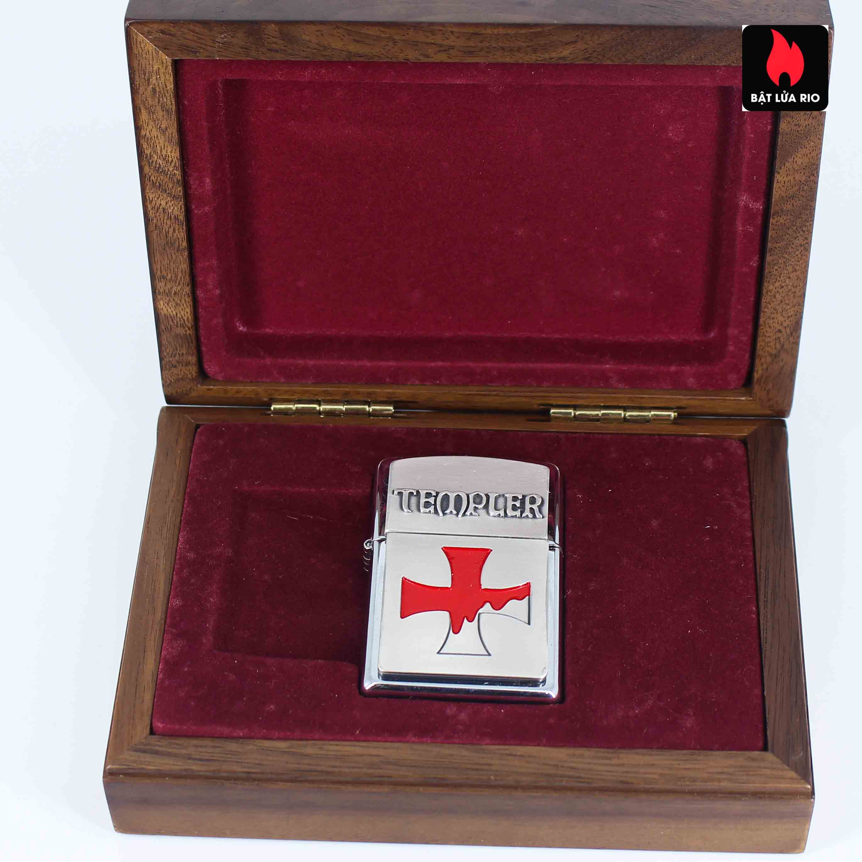 Zippo 2004 – Crusade – Templer Limited Edition 2