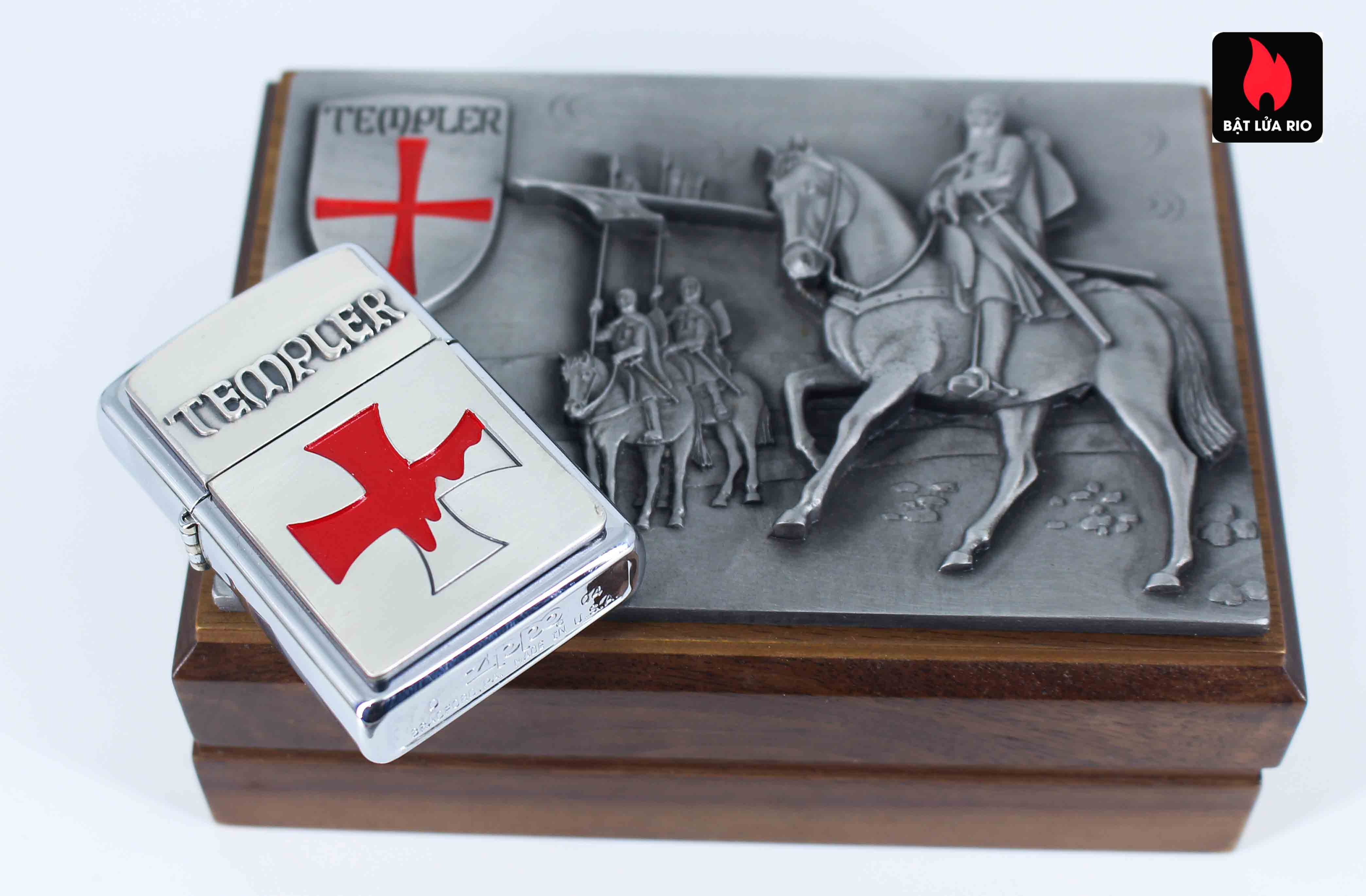 Zippo 2004 – Crusade – Templer Limited Edition 6
