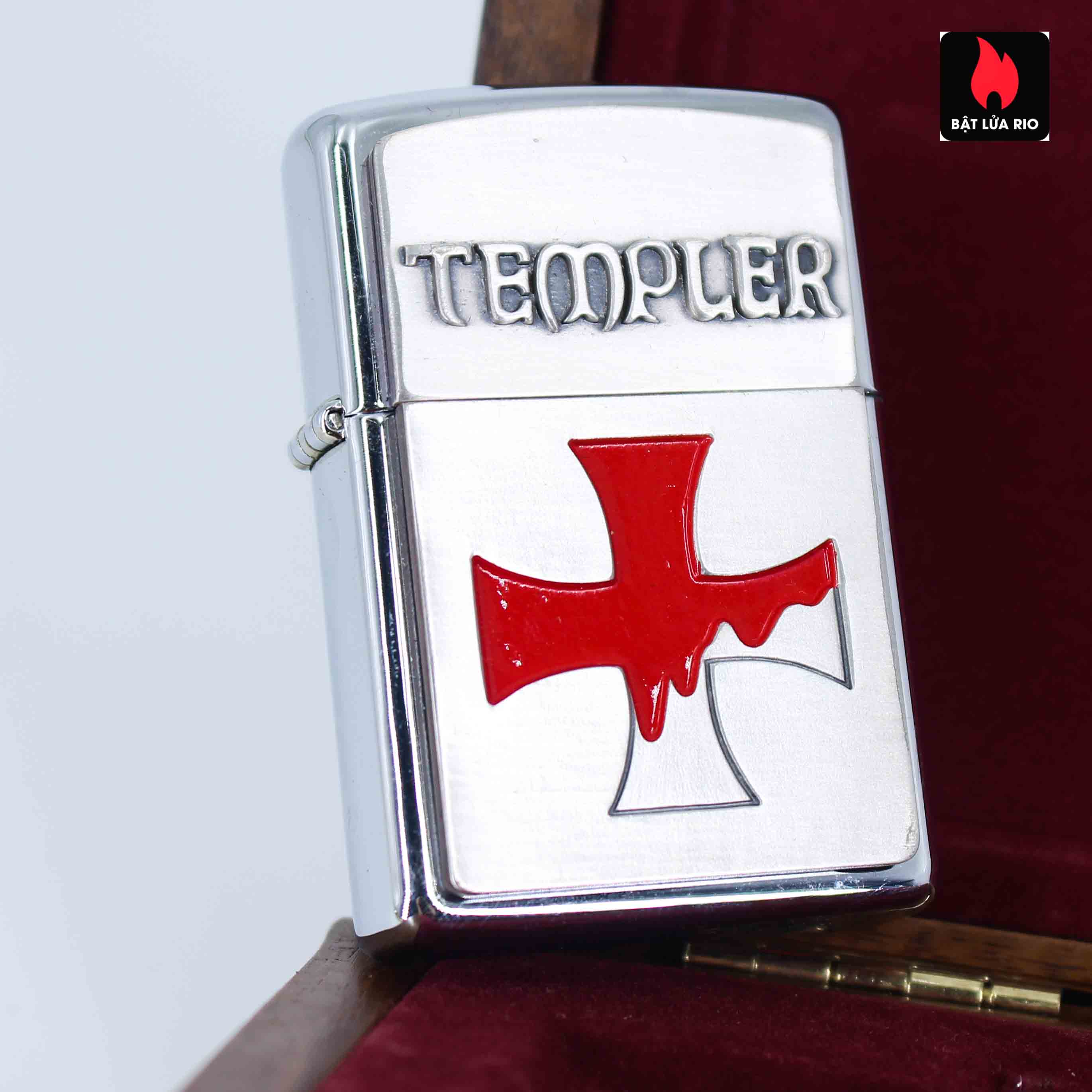 Zippo 2004 – Crusade – Templer Limited Edition