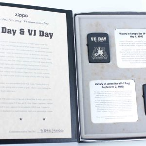 Zippo 2005 - WWII VE DAY & VJ DAY - Victory in Europe & Japan 1