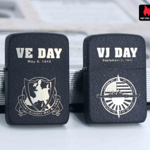 Zippo 2005 - WWII VE DAY & VJ DAY - Victory in Europe & Japan