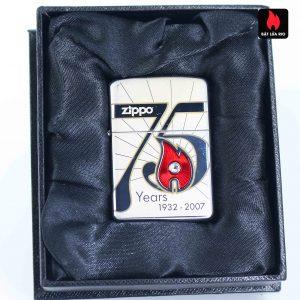 Zippo 2007 – 75th Anniversary Edition – Cambodia – Limited CAM 1 Of 75 1