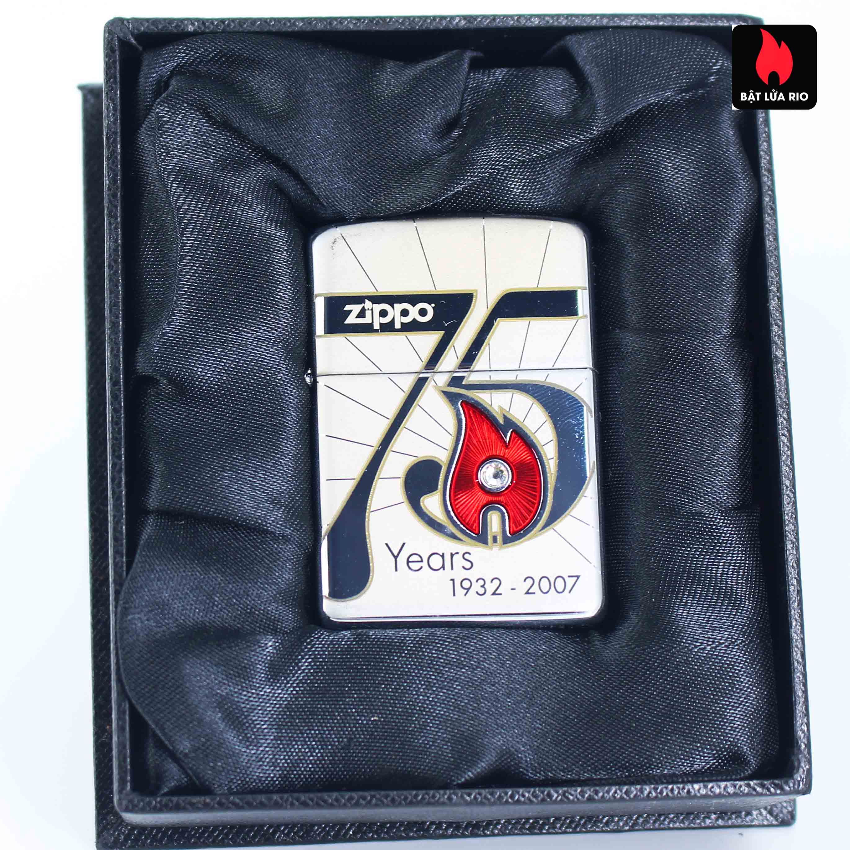 Zippo 2007 – 75th Anniversary Edition – Cambodia – Limited CAM 1 Of 75 1
