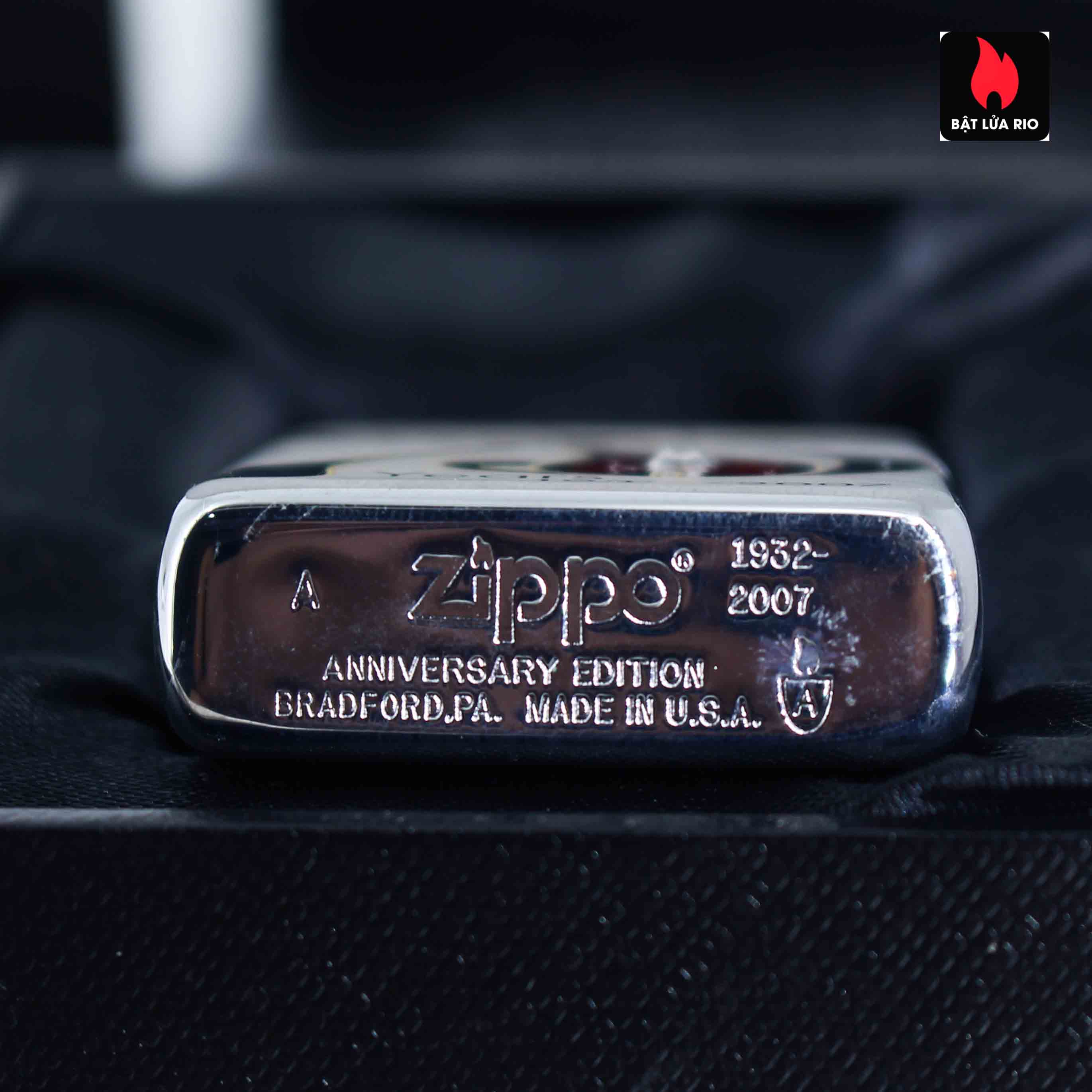 Zippo 2007 – 75th Anniversary Edition – Germany – Limited GER 1 Of 1500 11