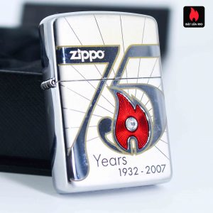 Zippo 2007 – 75th Anniversary Edition – Germany – Limited GER 1 Of 1500