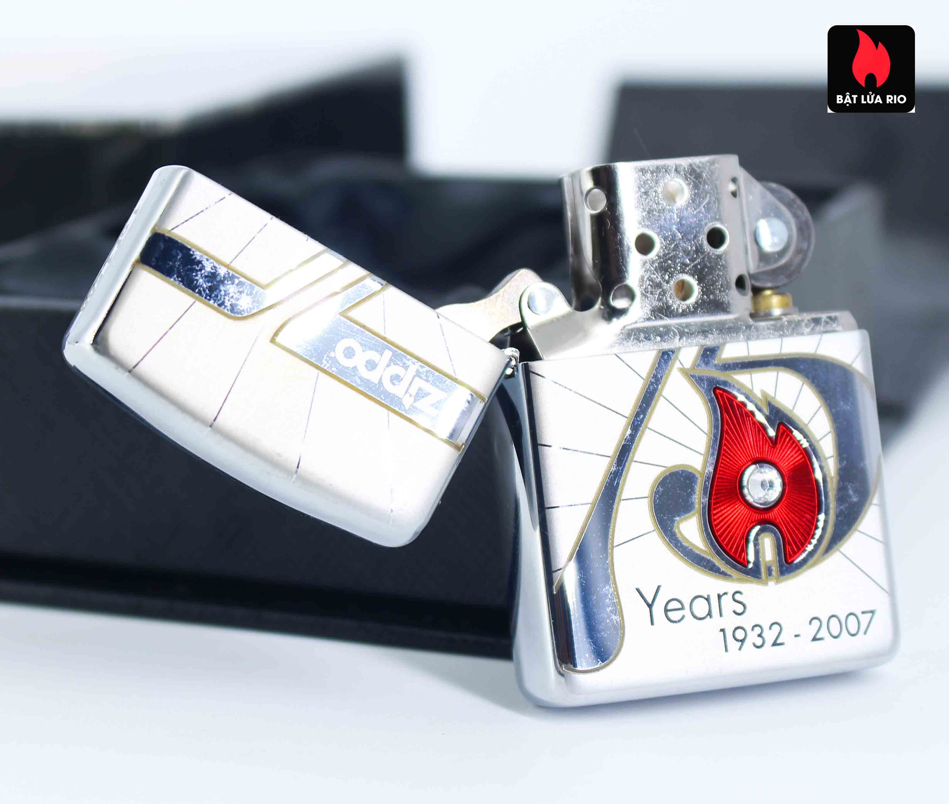 Zippo 2007 – 75th Anniversary Edition – Germany – Limited GER 1 Of 1500 6