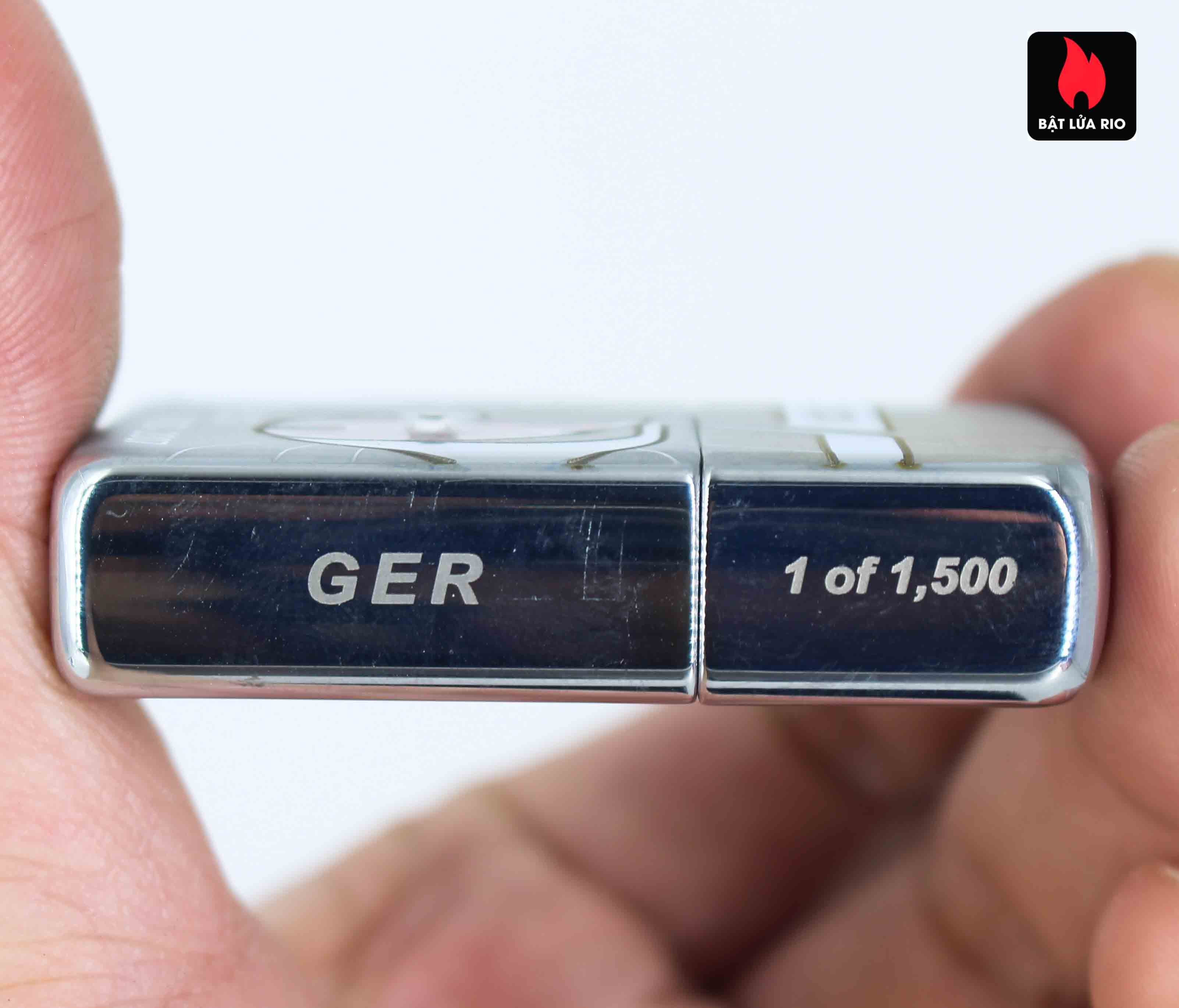 Zippo 2007 – 75th Anniversary Edition – Germany – Limited GER 1 Of 1500 9