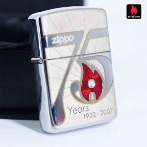 Zippo 2007 – 75th Anniversary Edition – Lào – Limited LAO 1 Of 75