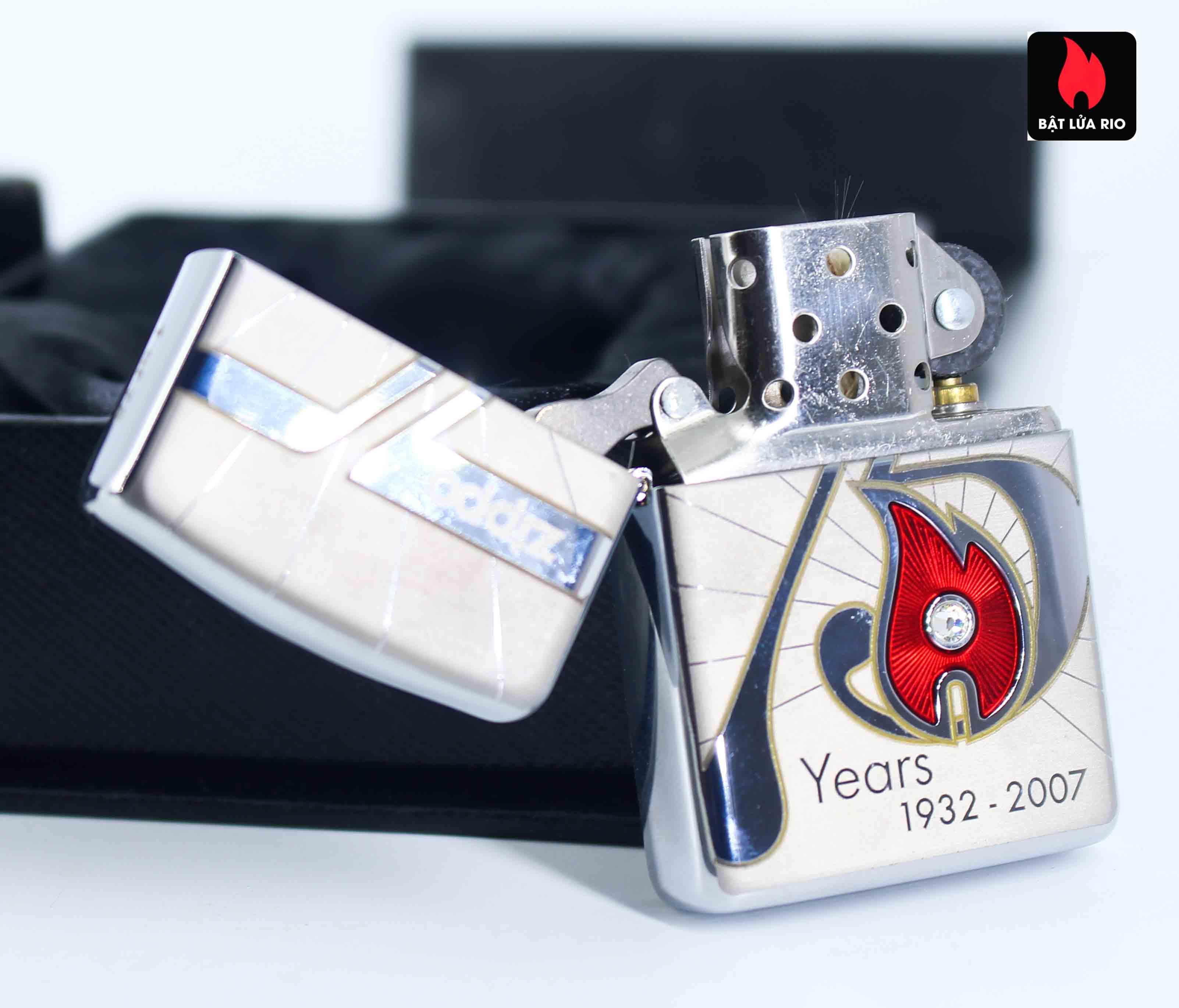 Zippo 2007 – 75th Anniversary Edition – Lào – Limited LAO 1 Of 75 8
