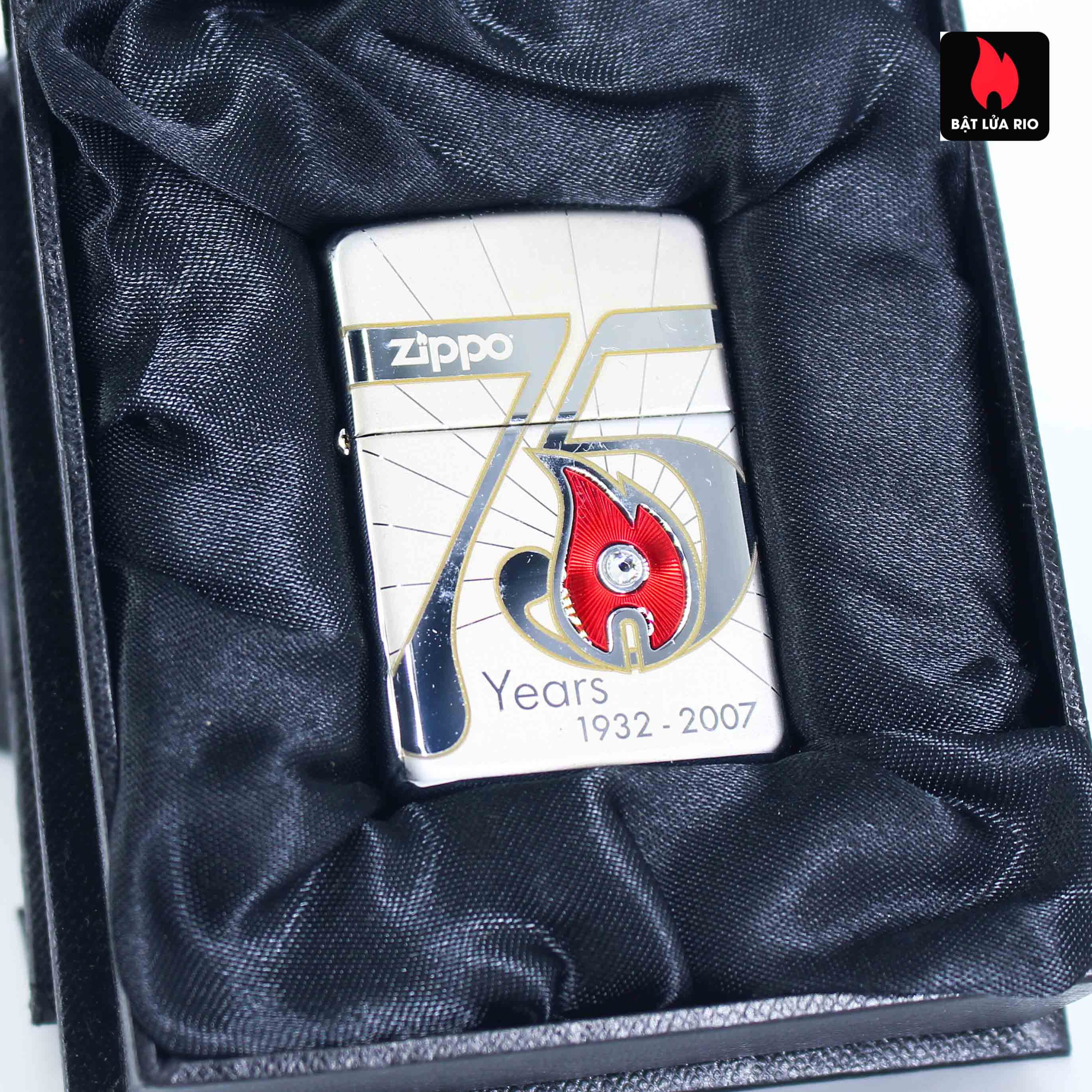 Zippo 2007 – 75th Anniversary Edition – United Kingdom – Limited GRB 1 Of 500 1