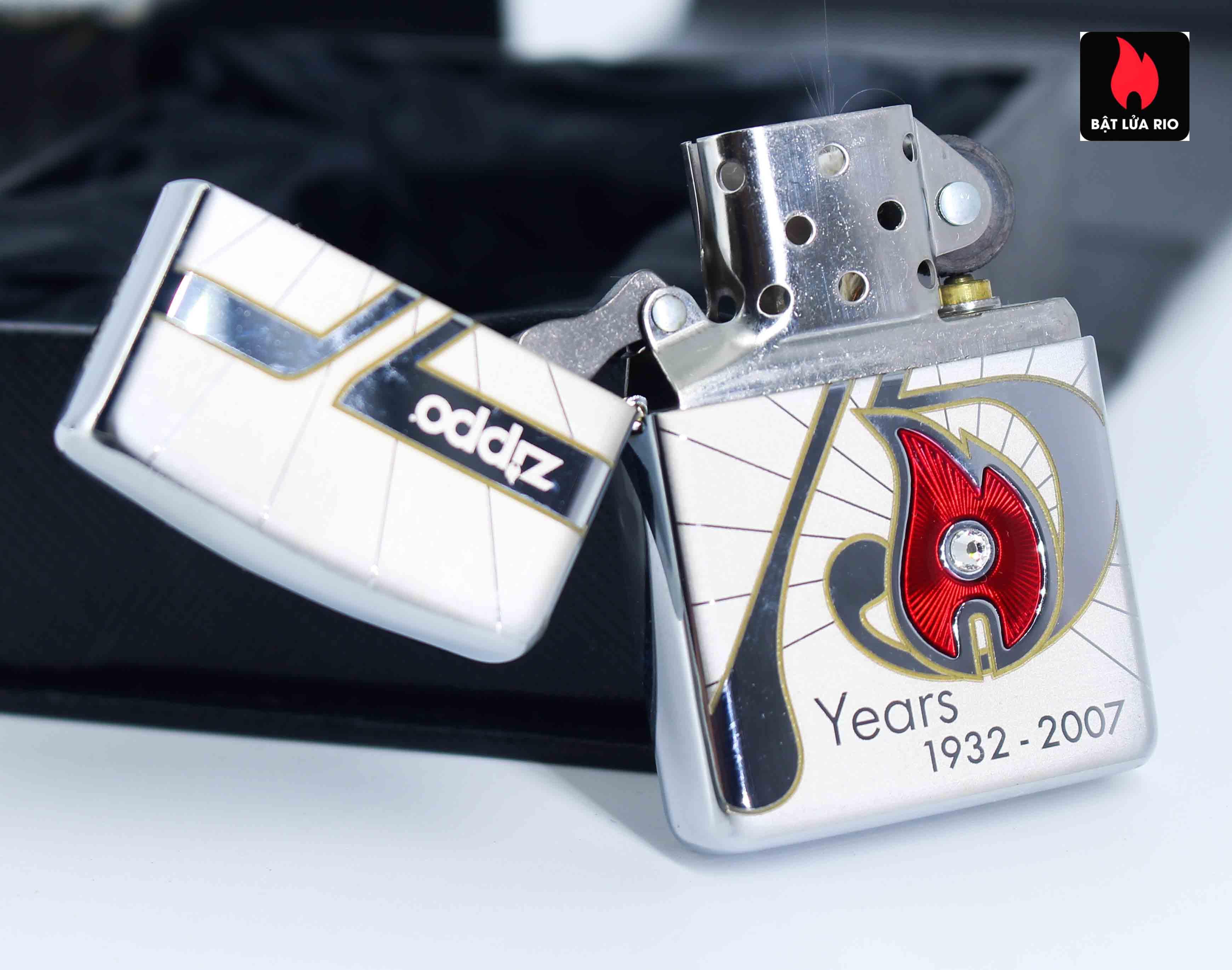 Zippo 2007 – 75th Anniversary Edition – United Kingdom – Limited GRB 1 Of 500 7
