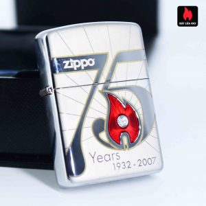 Zippo 2007 – 75th Anniversary Edition – USA – Limited USA 1 Of 14000