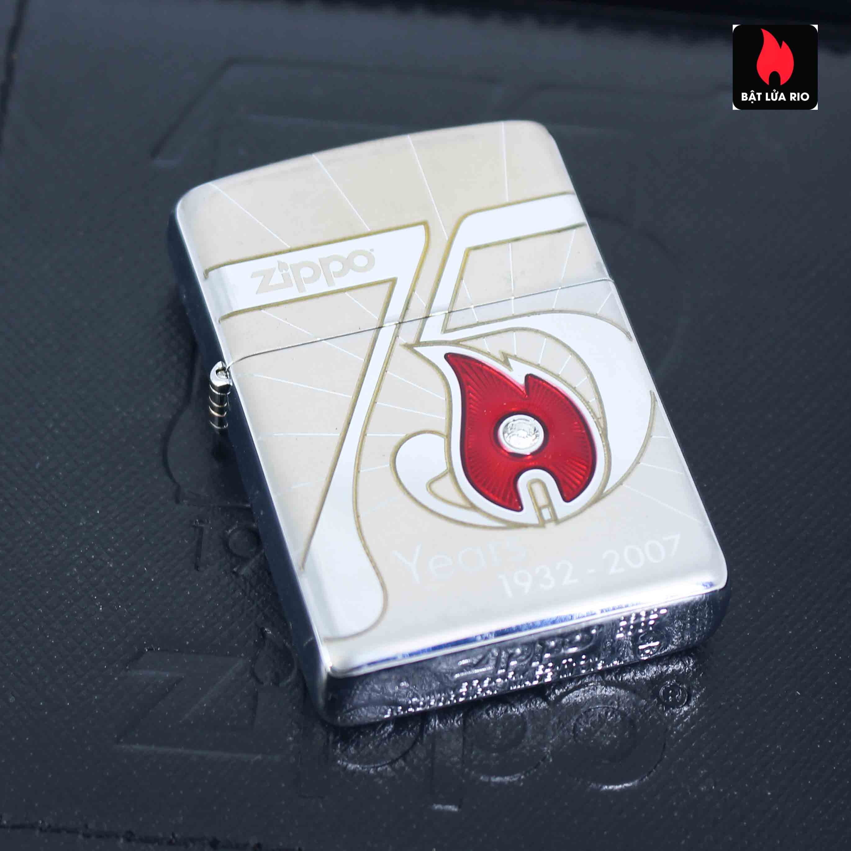 Zippo 2007 - 75th Anniversary Edition - VietNam - Limited VIE 1 Of 500 10
