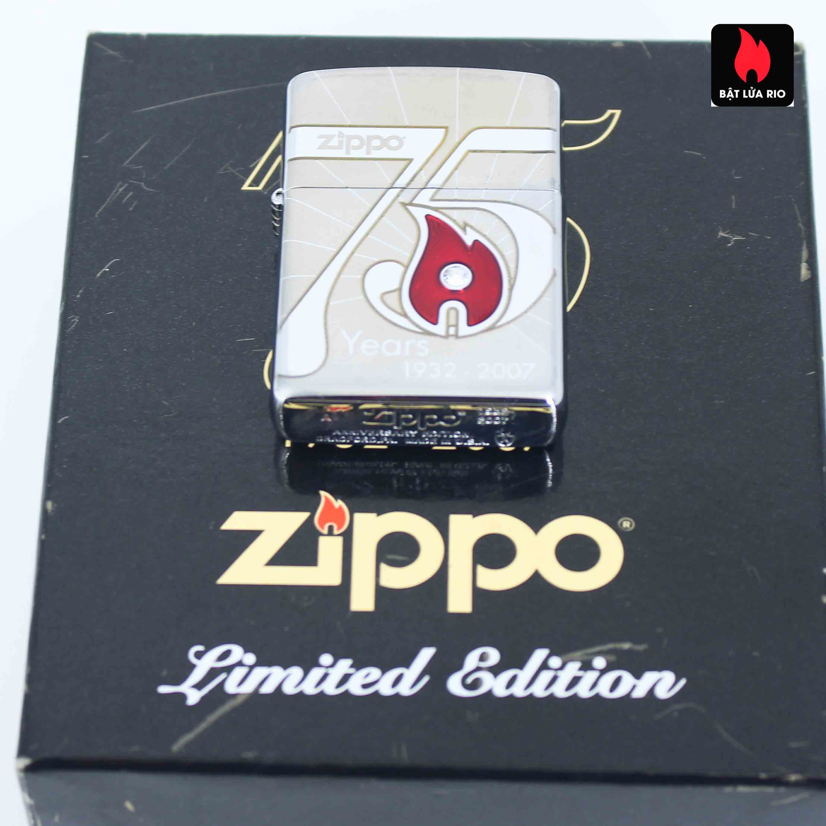 Zippo 2007 - 75th Anniversary Edition - VietNam - Limited VIE 1 Of 500 13