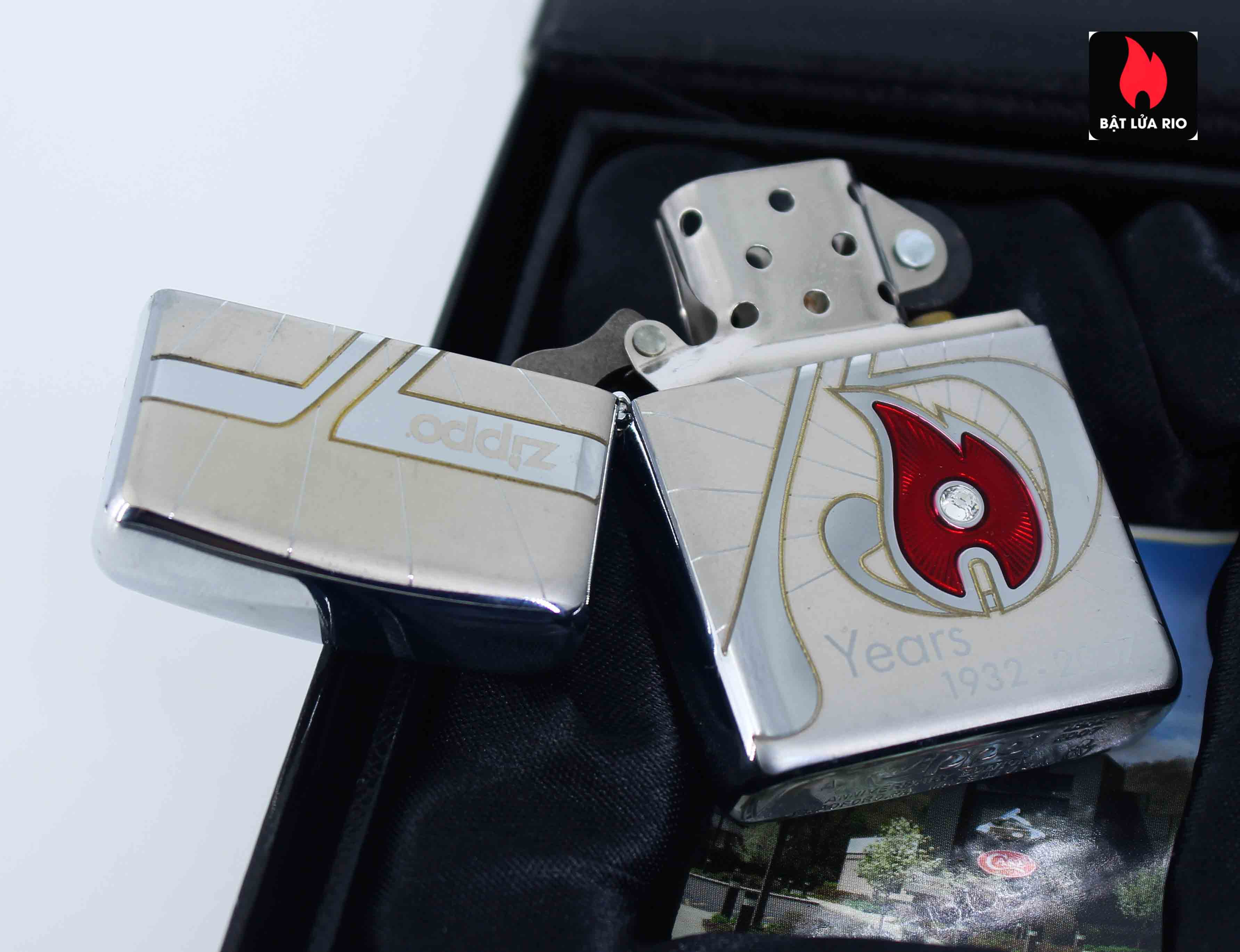 Zippo 2007 - 75th Anniversary Edition - VietNam - Limited VIE 1 Of 500 5