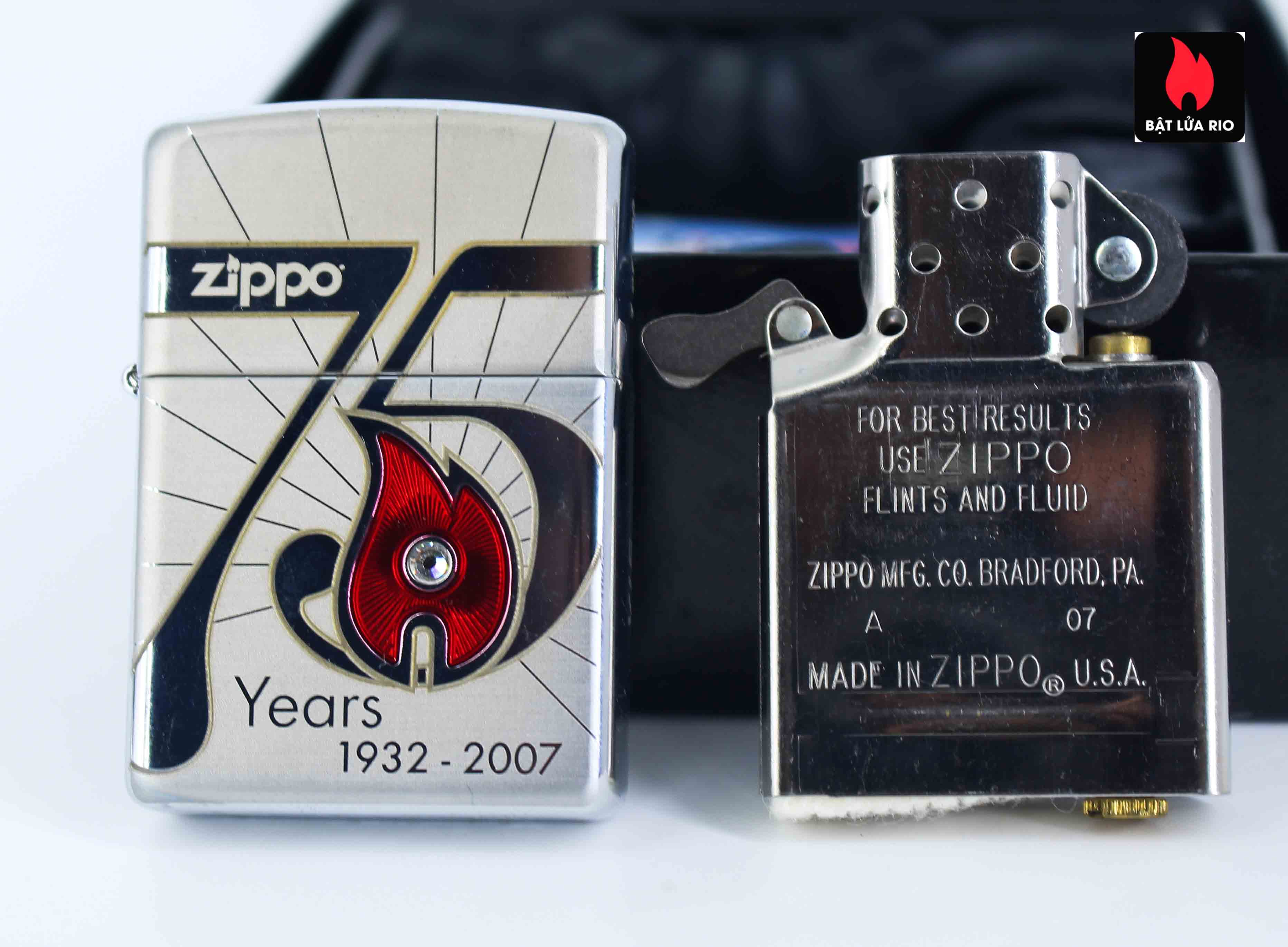 Zippo 2007 - 75th Anniversary Edition - VietNam - Limited VIE 1 Of 500 8