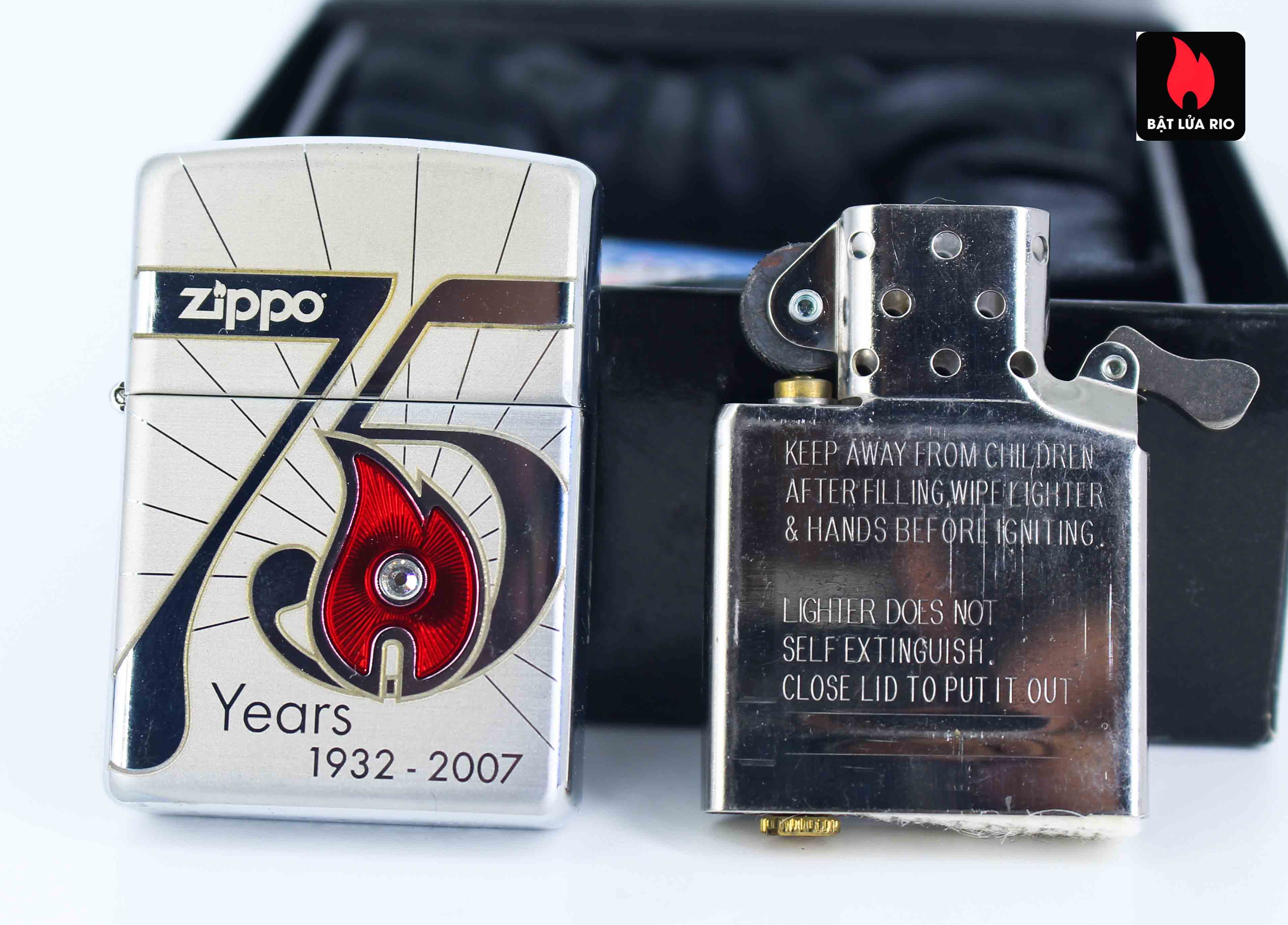 Zippo 2007 - 75th Anniversary Edition - VietNam - Limited VIE 1 Of 500 9