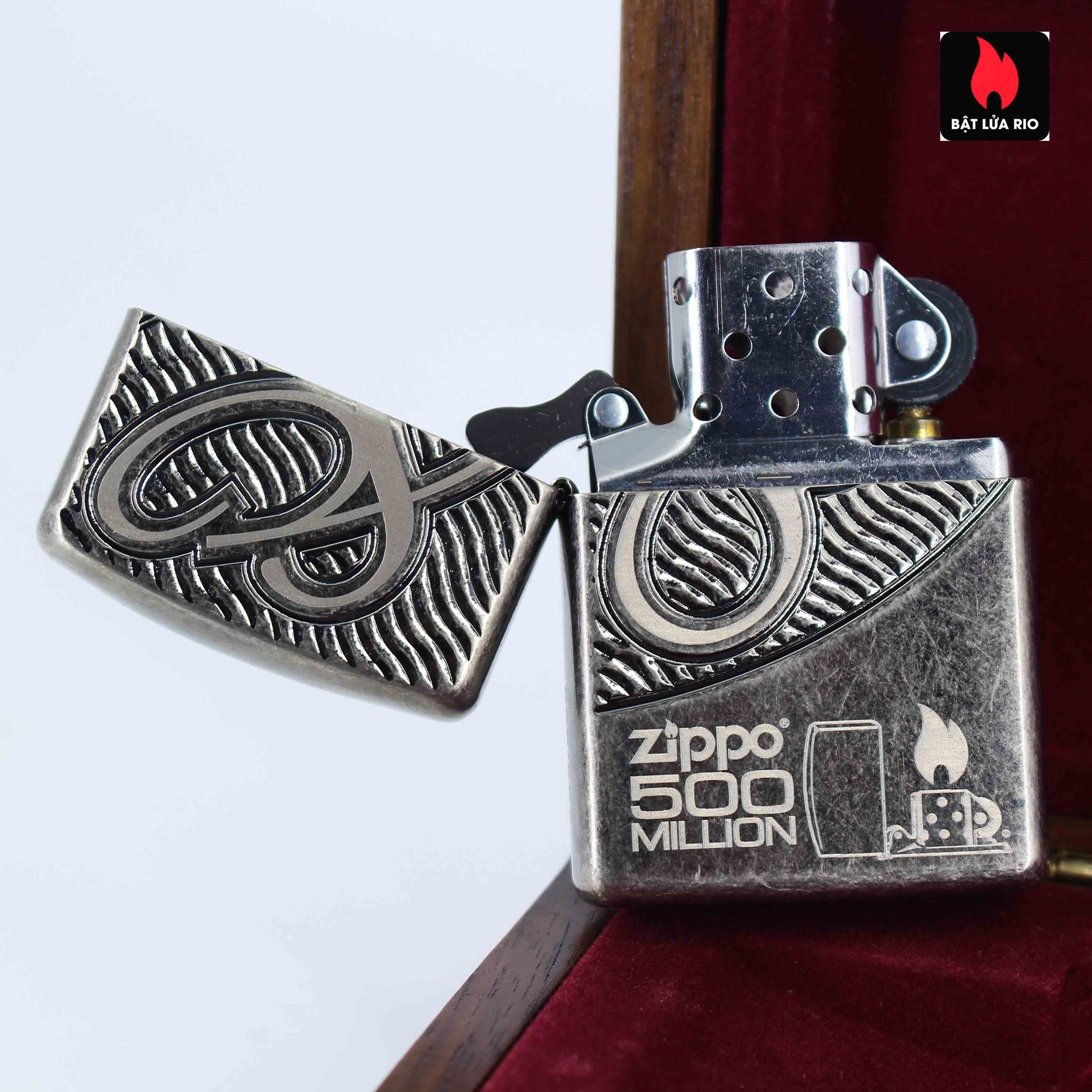 Zippo 2012 - 80th Anniversary and 500 Million - Limited 405/500 3
