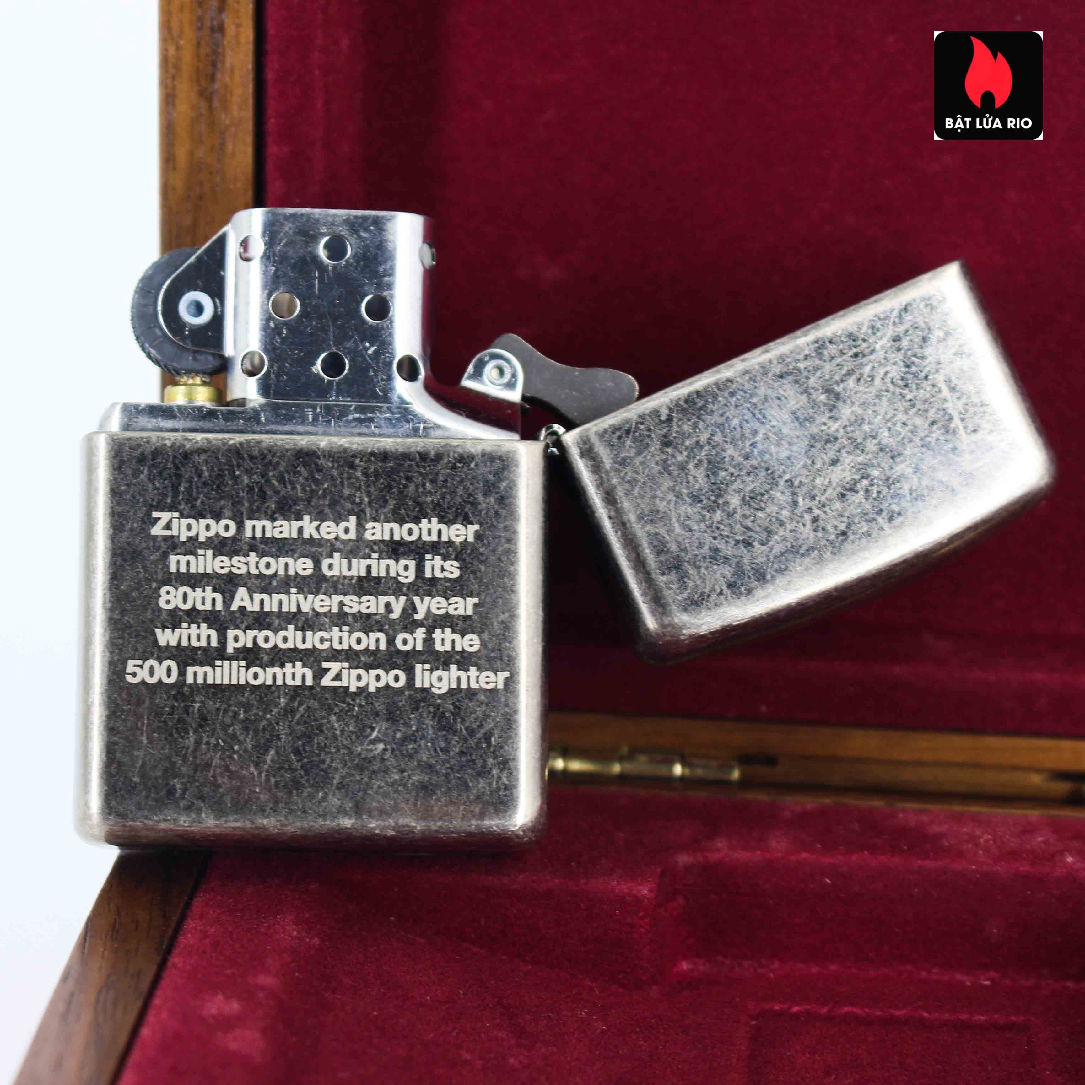 Zippo 2012 - 80th Anniversary and 500 Million - Limited 405/500 4